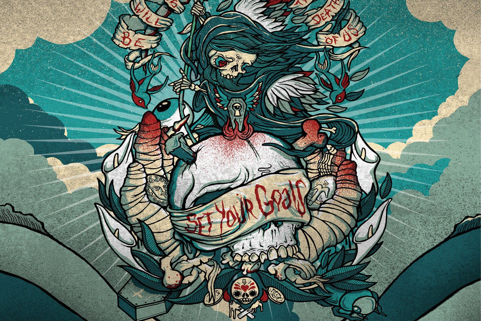Skull Tattoo Wallpapers Top Free Skull Tattoo Backgrounds