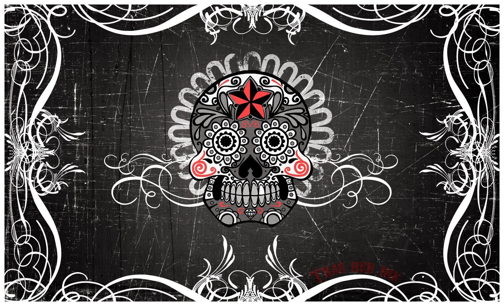 Skull Tattoo Wallpapers Top Free Skull Tattoo Backgrounds Wallpaperaccess