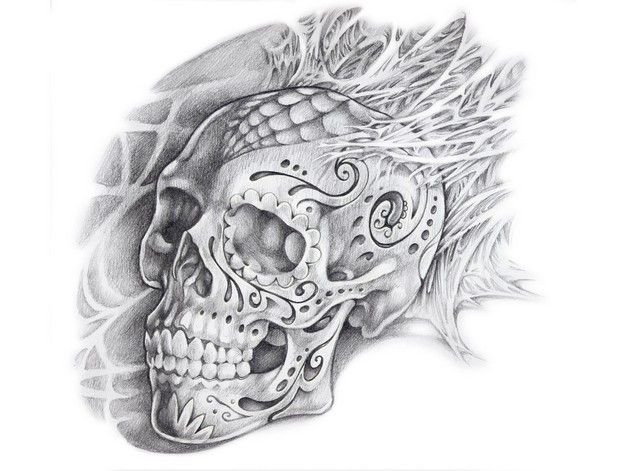 Skull Tattoo Wallpapers - Top Free Skull Tattoo Backgrounds