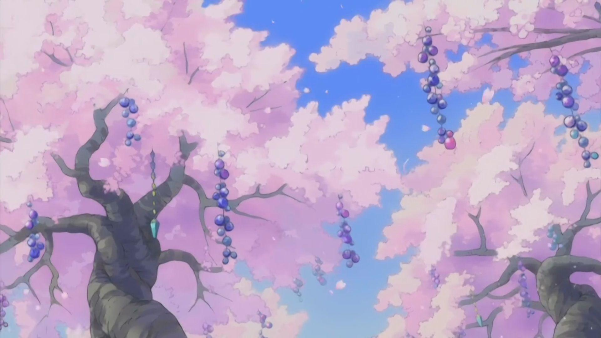 Pink Anime Aesthetic Desktop Wallpapers - Top Free Pink ...