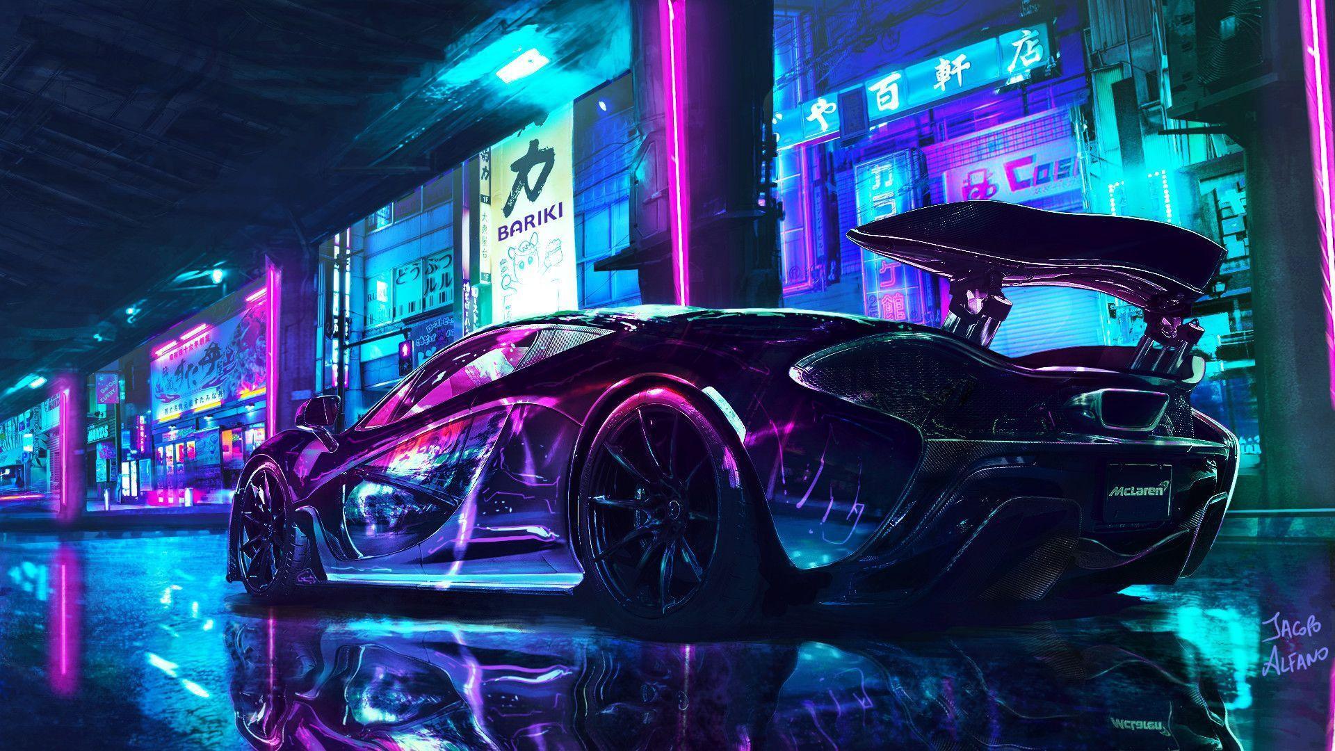 Cyberpunk Car Wallpapers   Top Free Cyberpunk Car Backgrounds ...