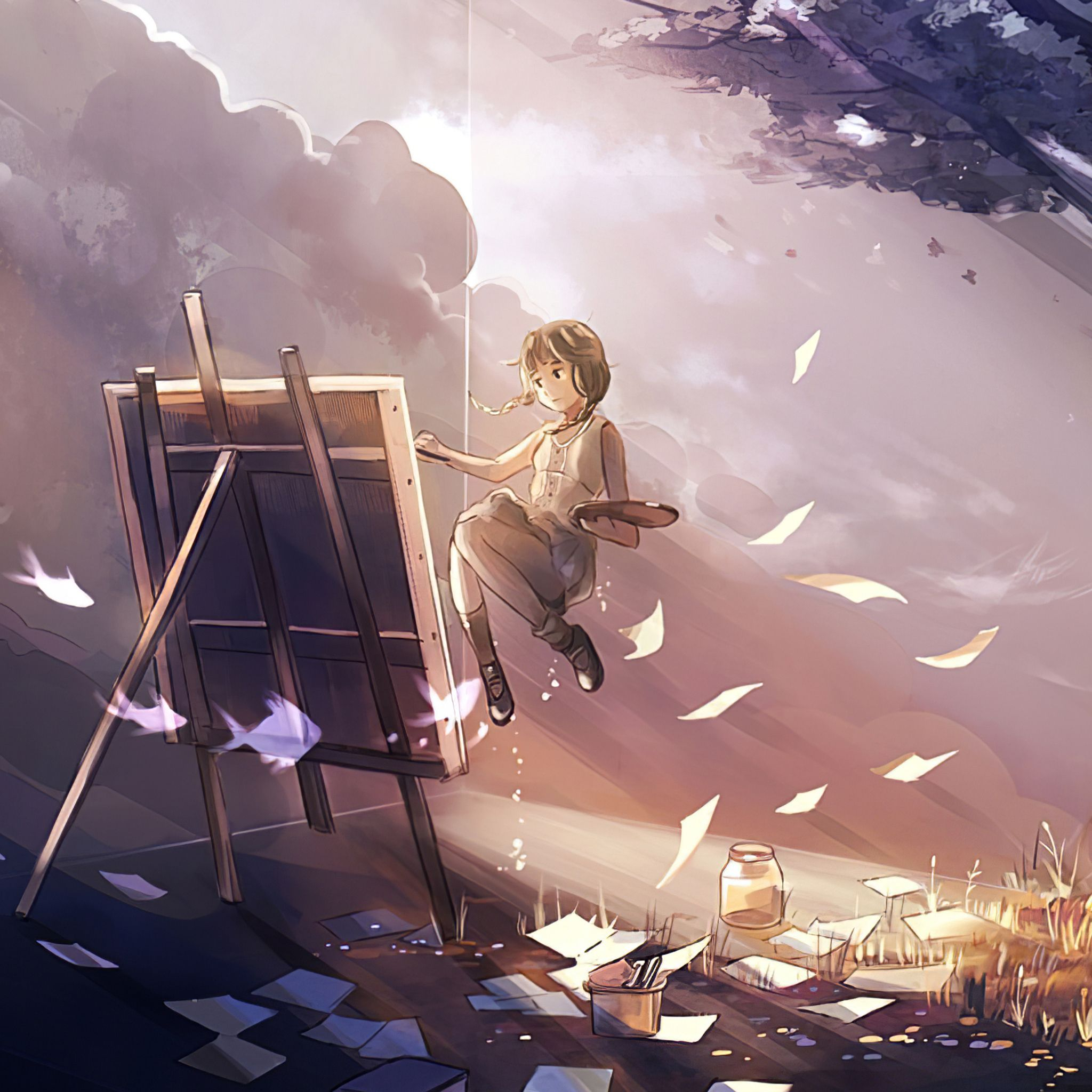 Anime Nature 4K Wallpapers - Top Free Anime Nature 4K ...
