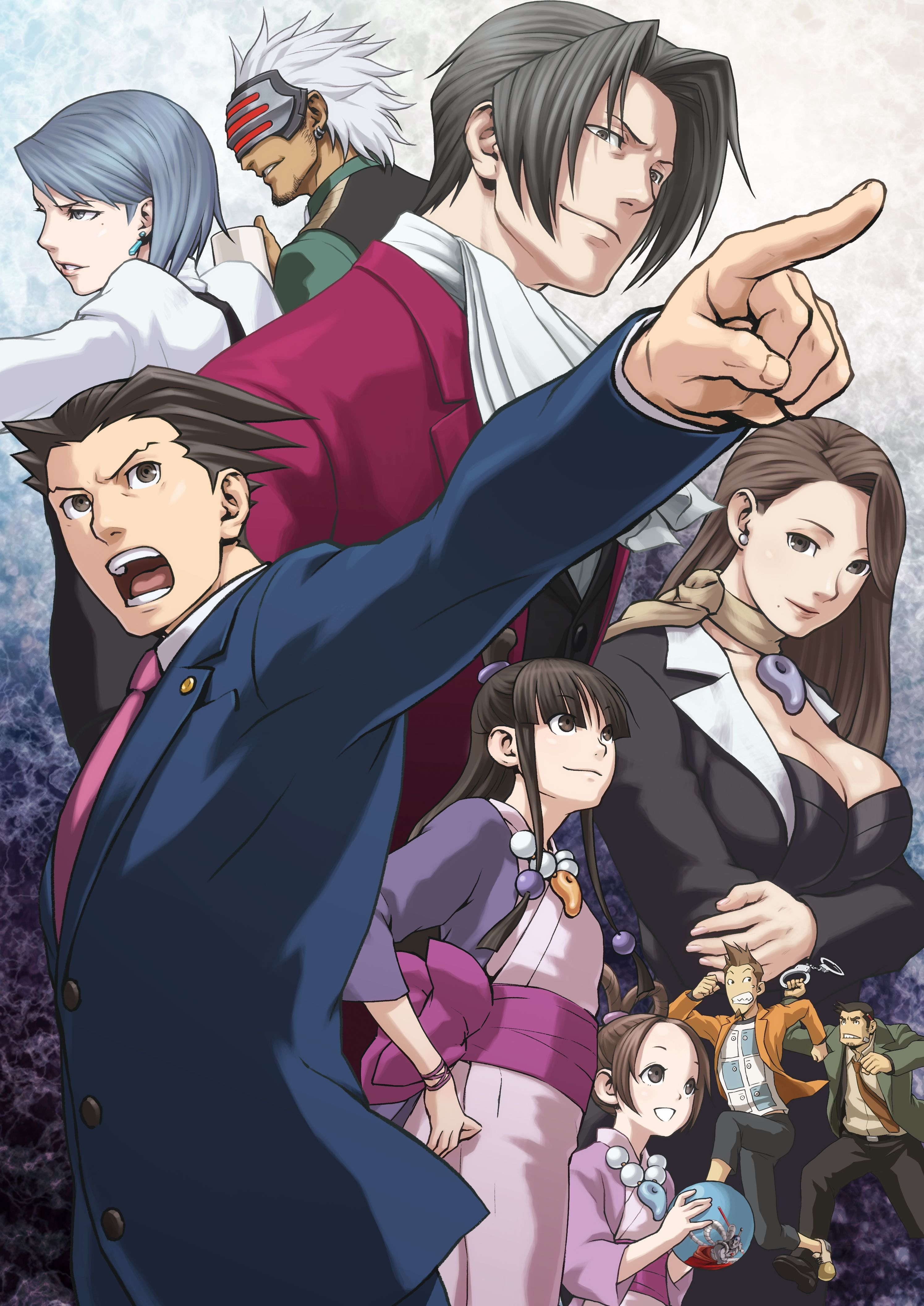 Ace Attorney Iphone Wallpapers Top Free Ace Attorney Iphone