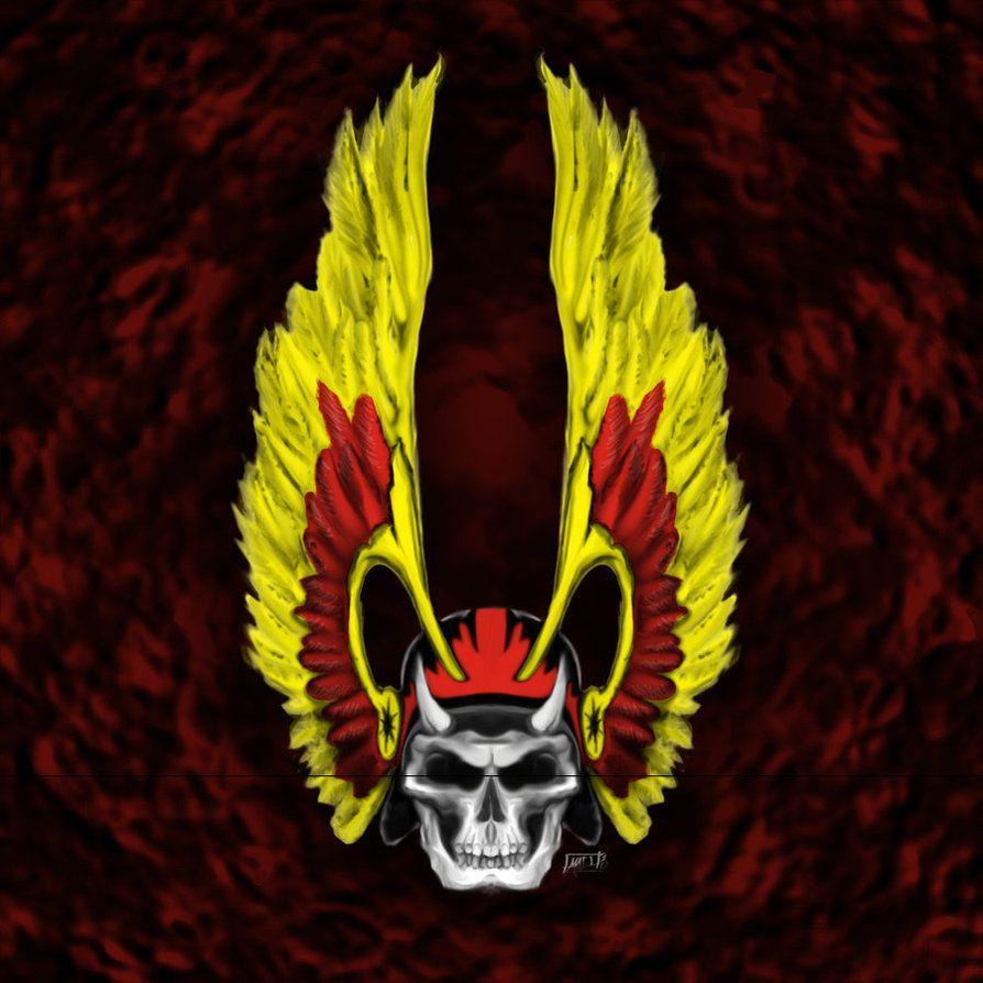 Outlaw Biker Skull Wallpapers
