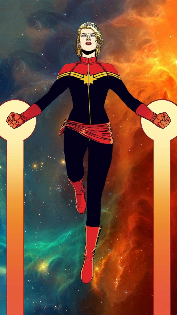 Captain Marvel Wallpapers Top Free Captain Marvel