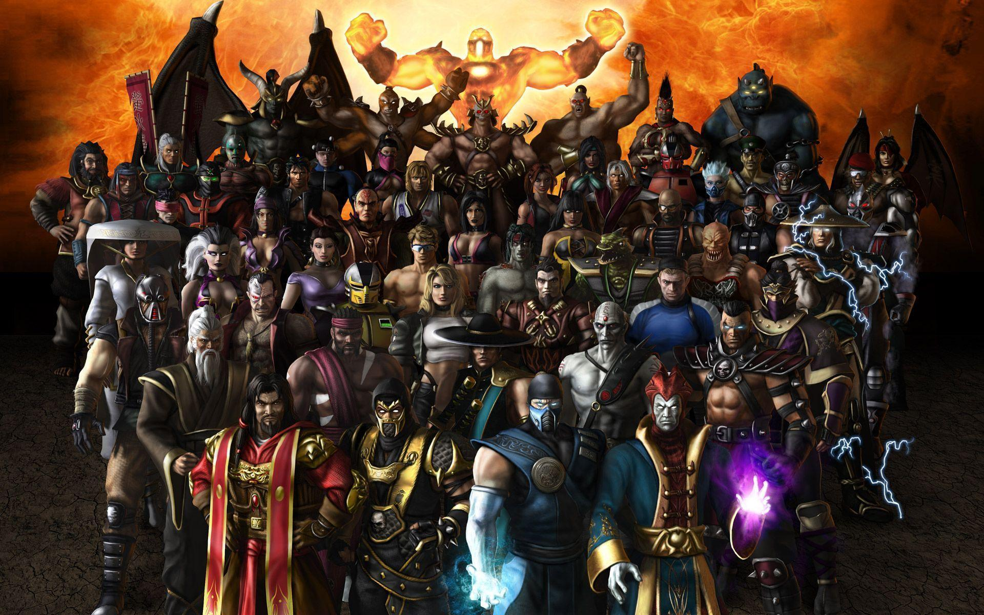 Mortal Kombat Characters Wallpapers Top Free Mortal Kombat