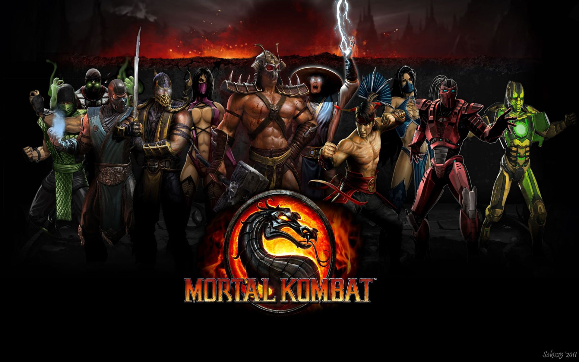 Mortal Kombat Characters Wallpapers - Top Free Mortal Kombat