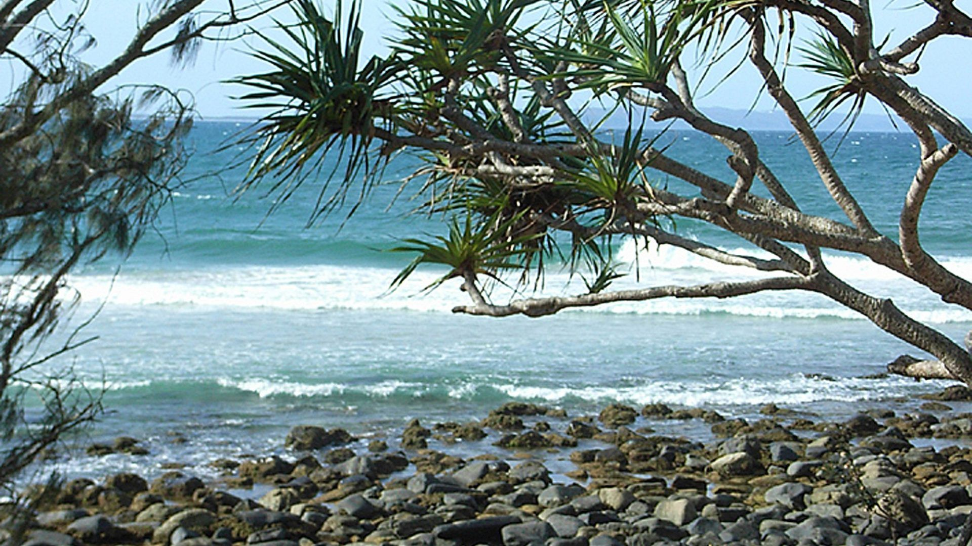 Tropical Island Beach Ambience Sound: Ocean Beach Desktop Wallpapers