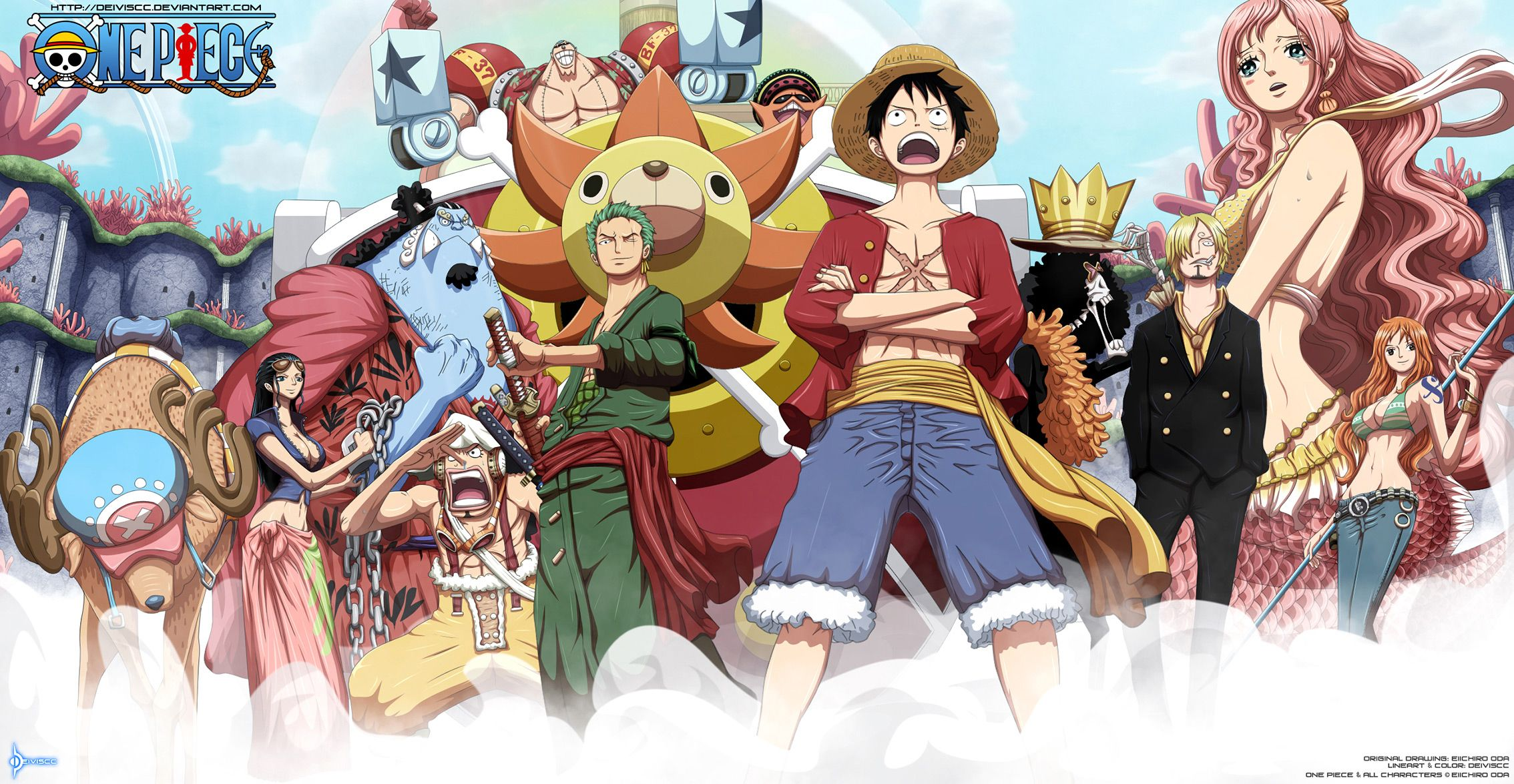 One Piece Crew Wallpapers Top Free One Piece Crew Backgrounds Wallpaperaccess