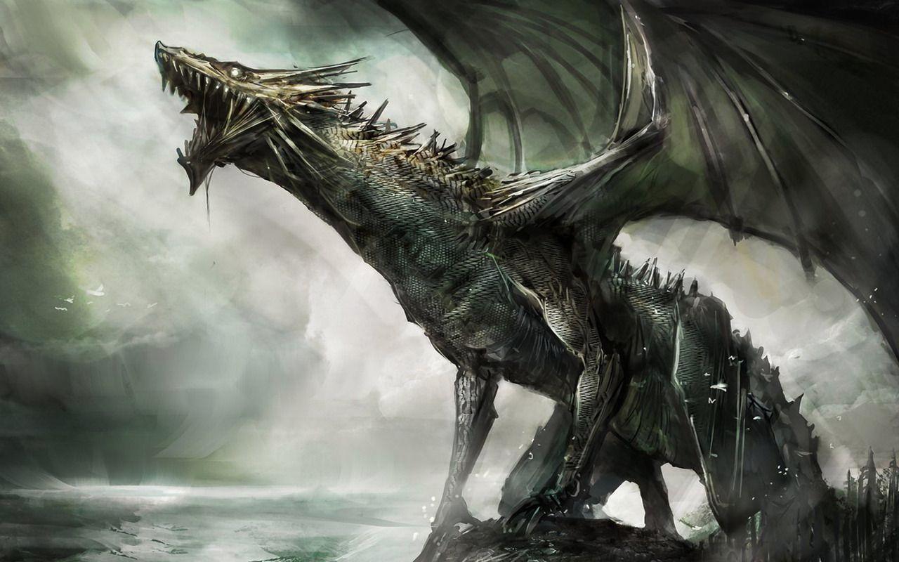2560x1600 Artwork Barbarian Dragons Fantasy Helmet Skulls Swords Warriors