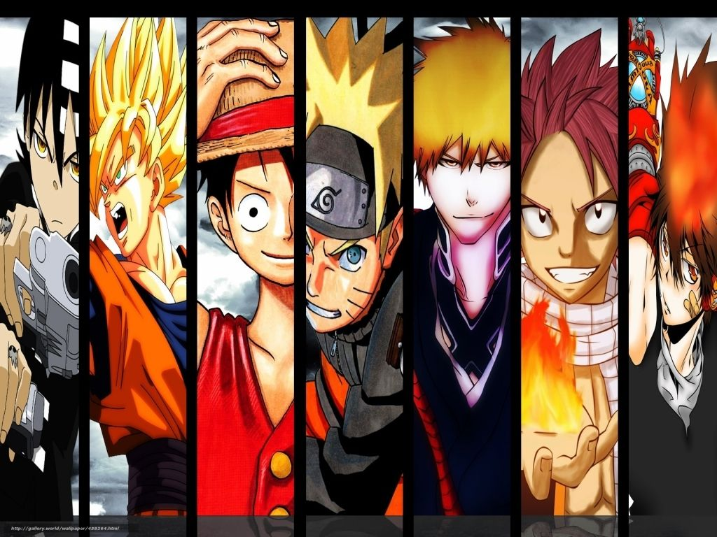 Free Top Anime Wallpaper