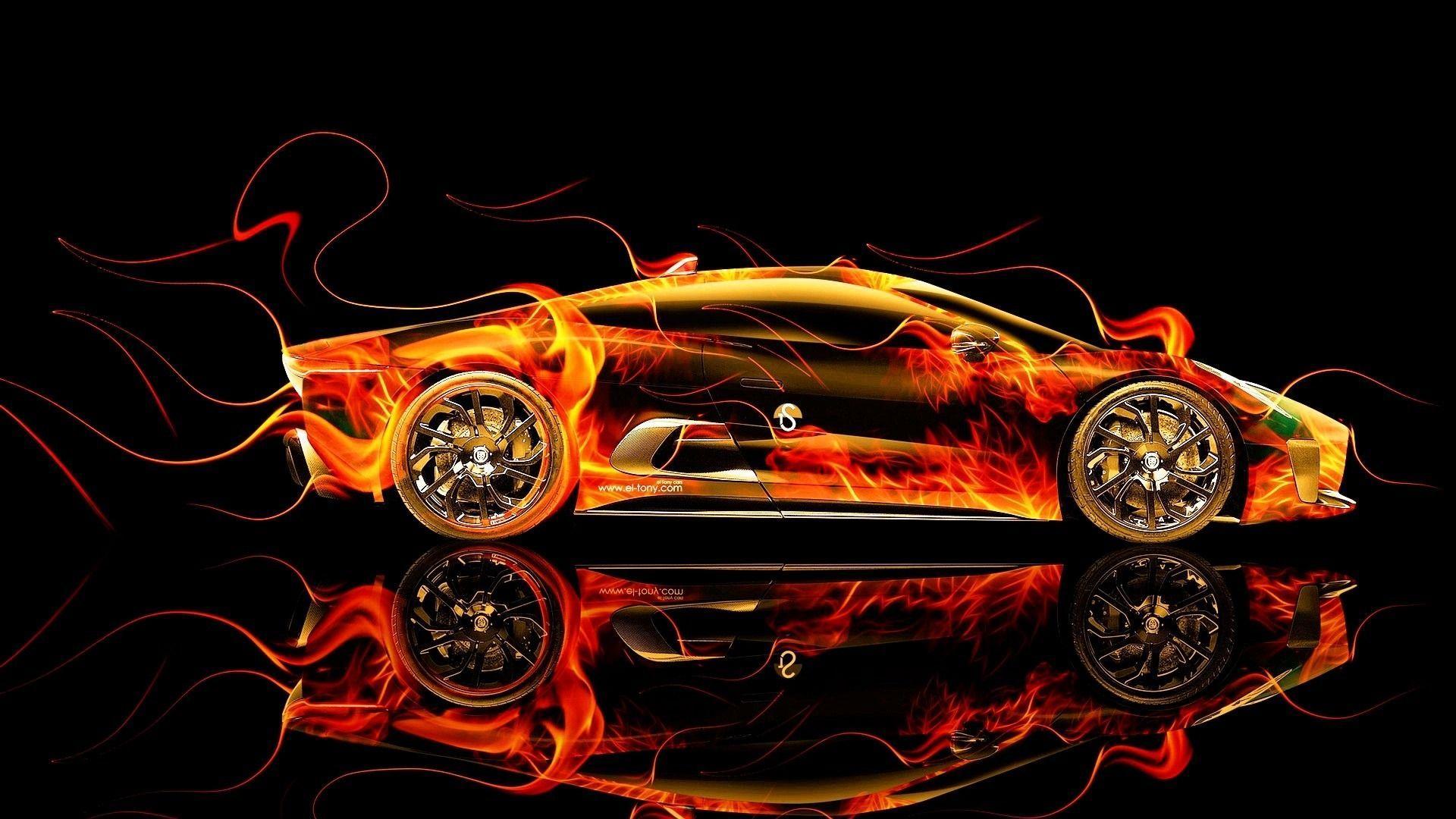1920x1080 Design Talent Showcase à ??  Mang các yếu tố gợi cảm Lửa và Nước vào Hình nền ô tô của BẠN 17