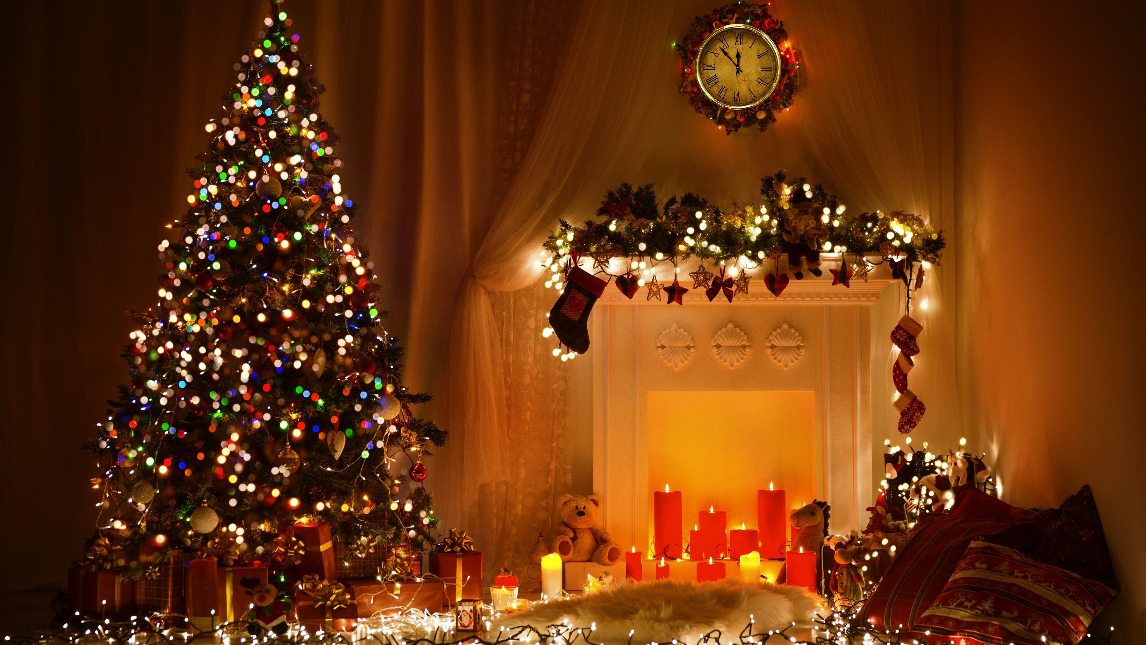 3840 X 2160 Christmas Wallpapers Top Free 3840 X 2160 Christmas Backgrounds Wallpaperaccess