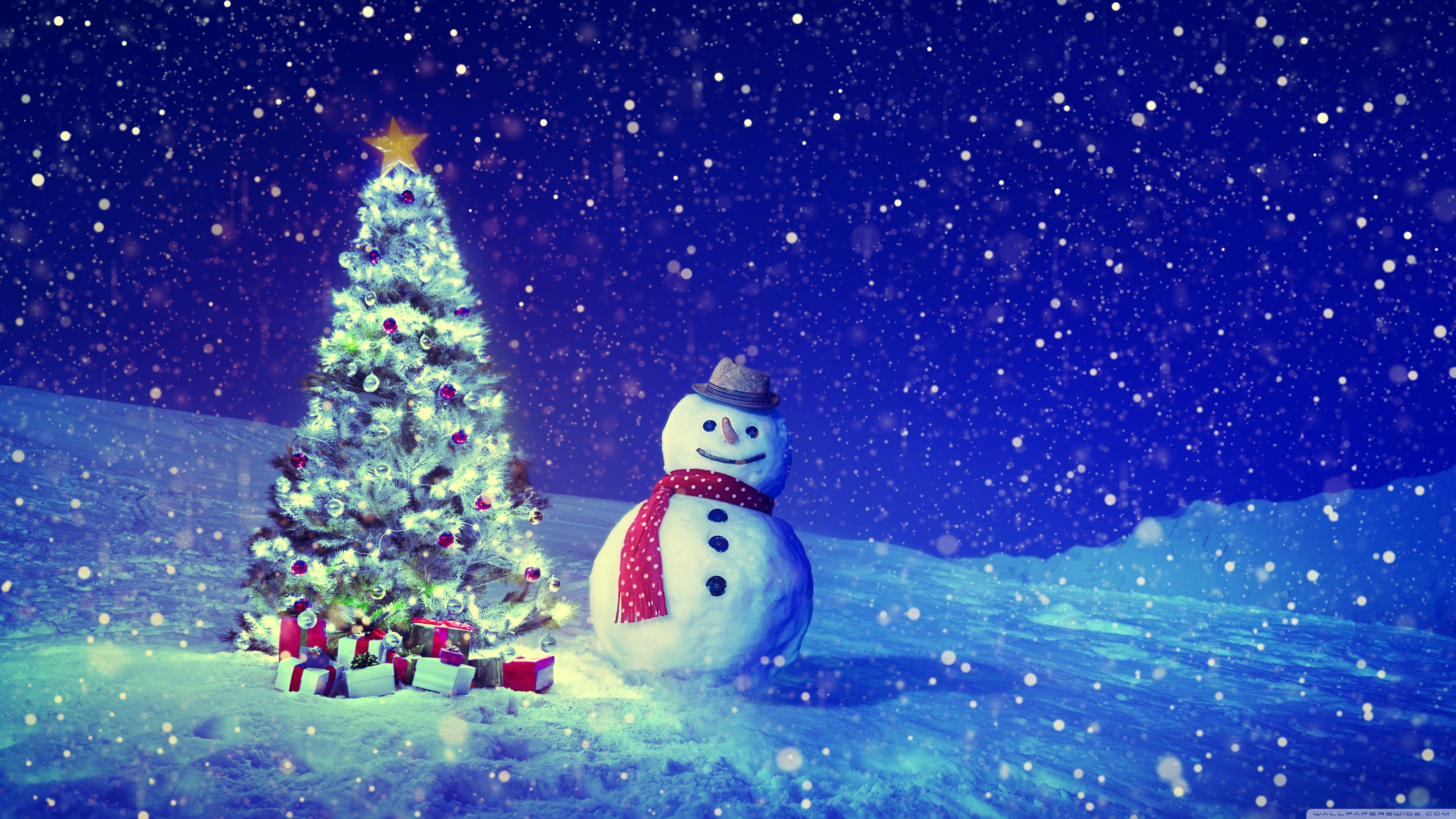 3840 X 2160 Christmas Wallpapers Top Free 3840 X 2160