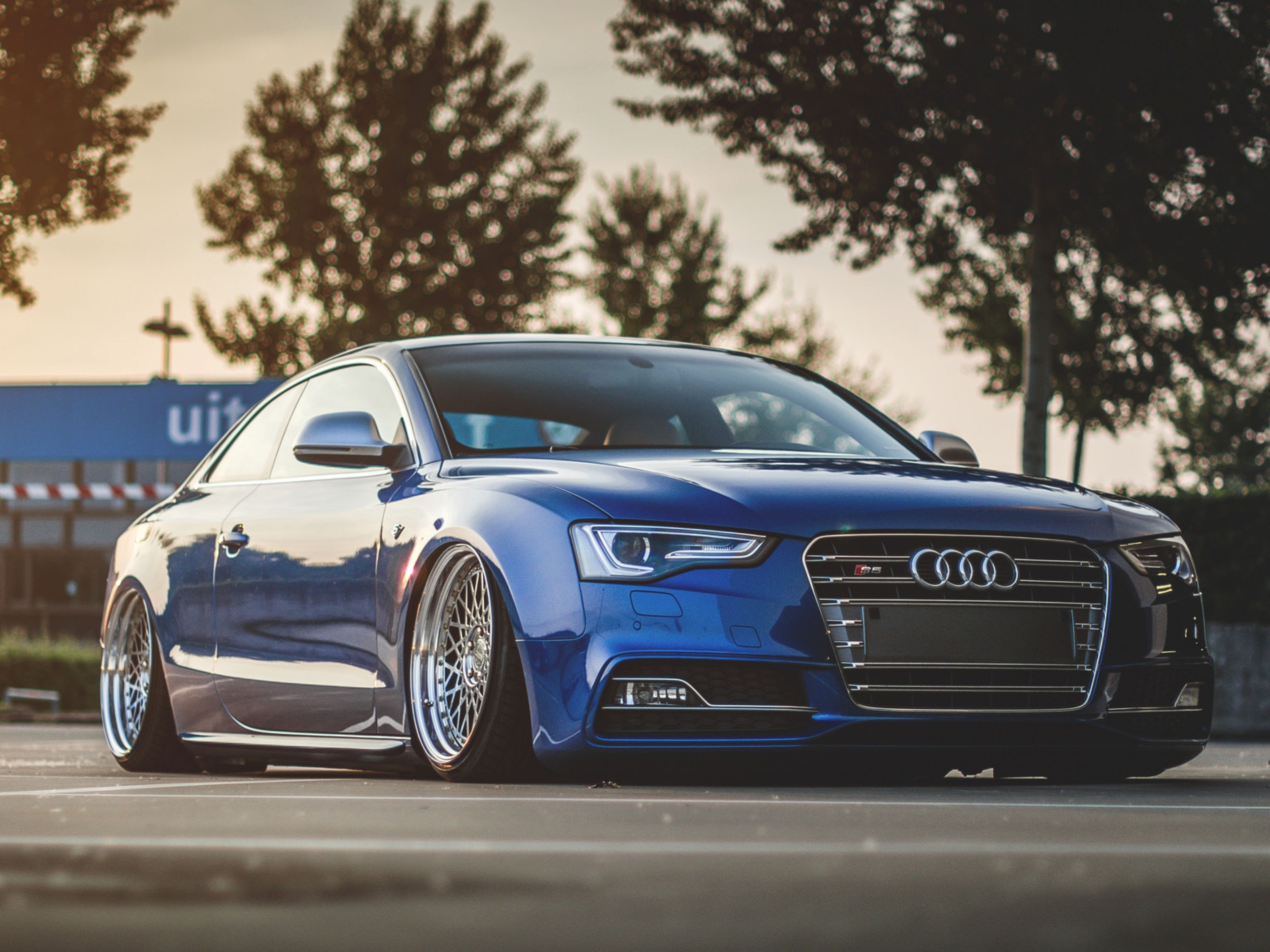 Blue Audi Wallpapers Top Free Blue Audi Backgrounds Wallpaperaccess