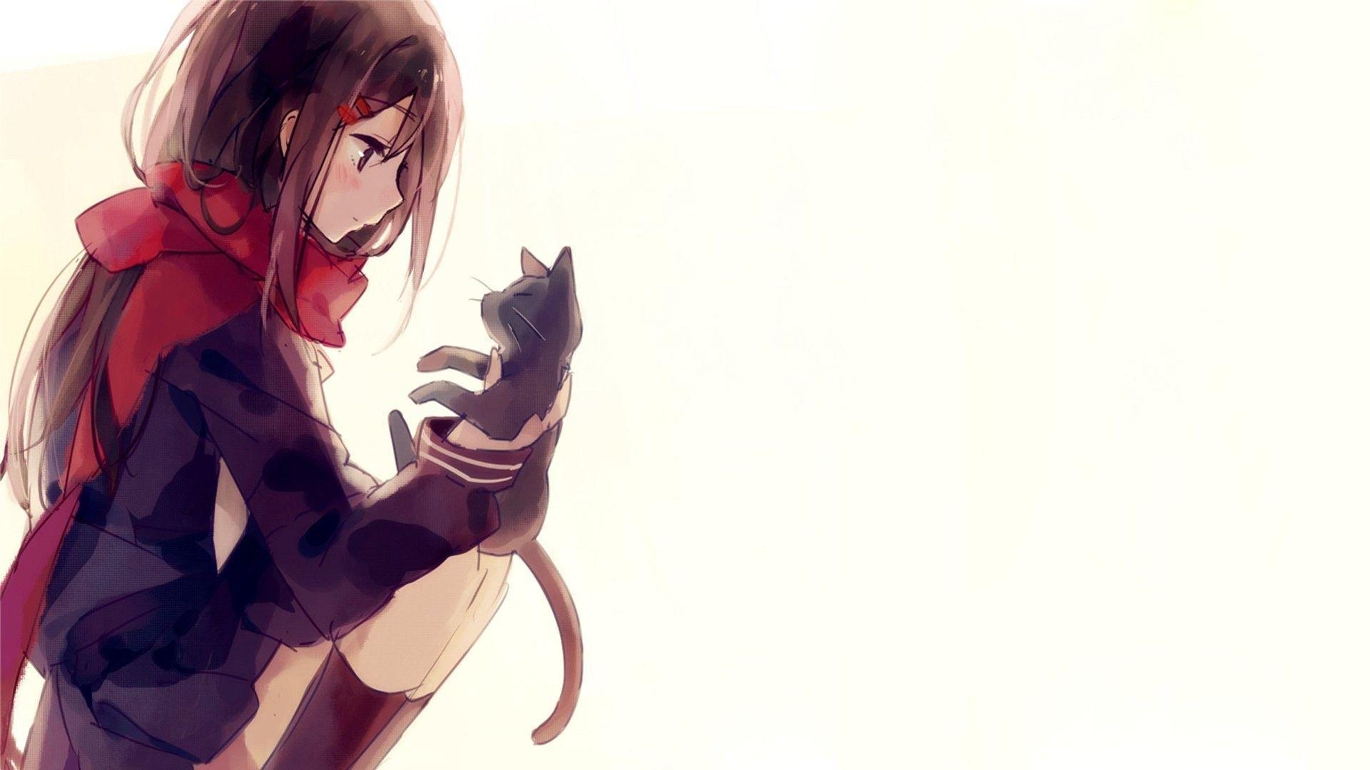 62 Best Free Kawaii Anime Cat Wallpapers Wallpaperaccess