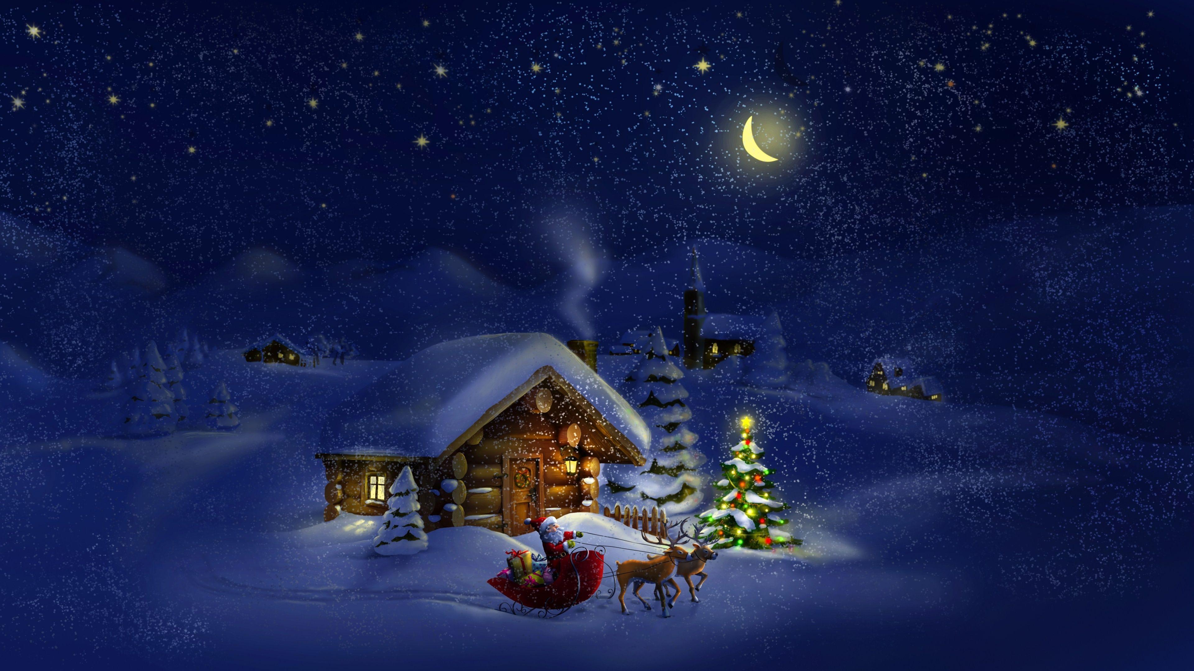3840 X 2160 Christmas Wallpapers - Top Free 3840 X 2160 ...