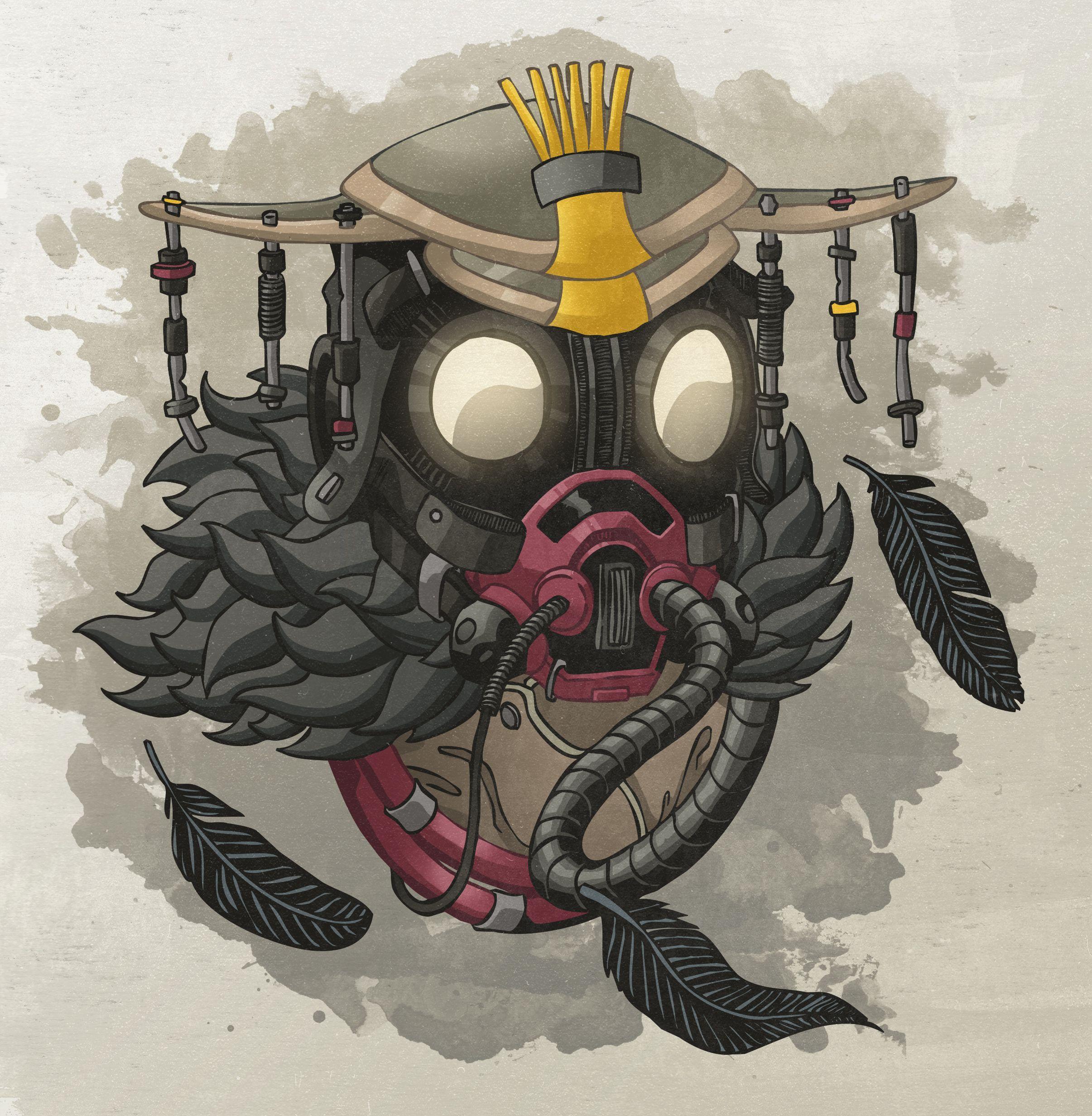 2411x2465 Bloodhound Bản vẽ huyền thoại Apex mát mẻ