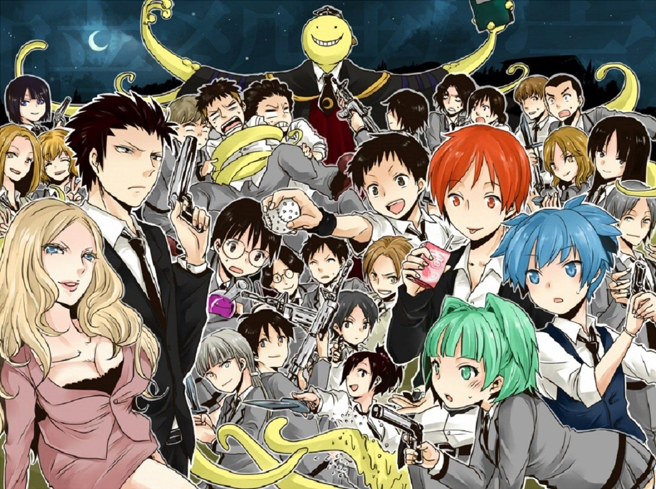 Assassination Classroom 4K Wallpapers - Top Free ...