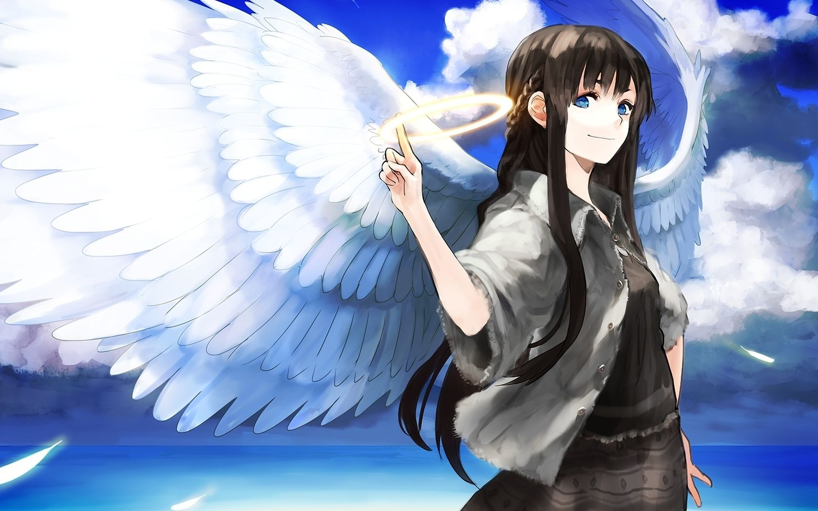 Anime Angel Girl Wallpapers Top Free Anime Angel Girl