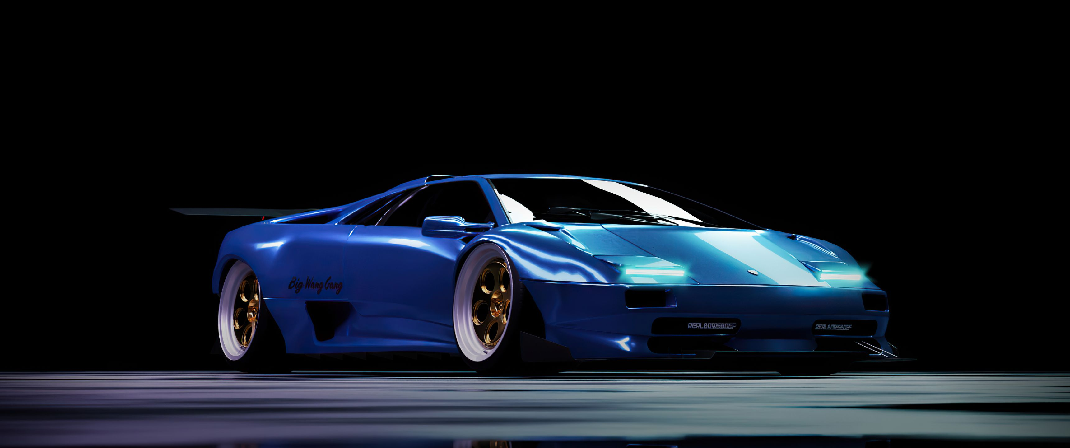 3440x1440 Blue Car Wallpapers Top Free 3440x1440 Blue Car Backgrounds Wallpaperaccess