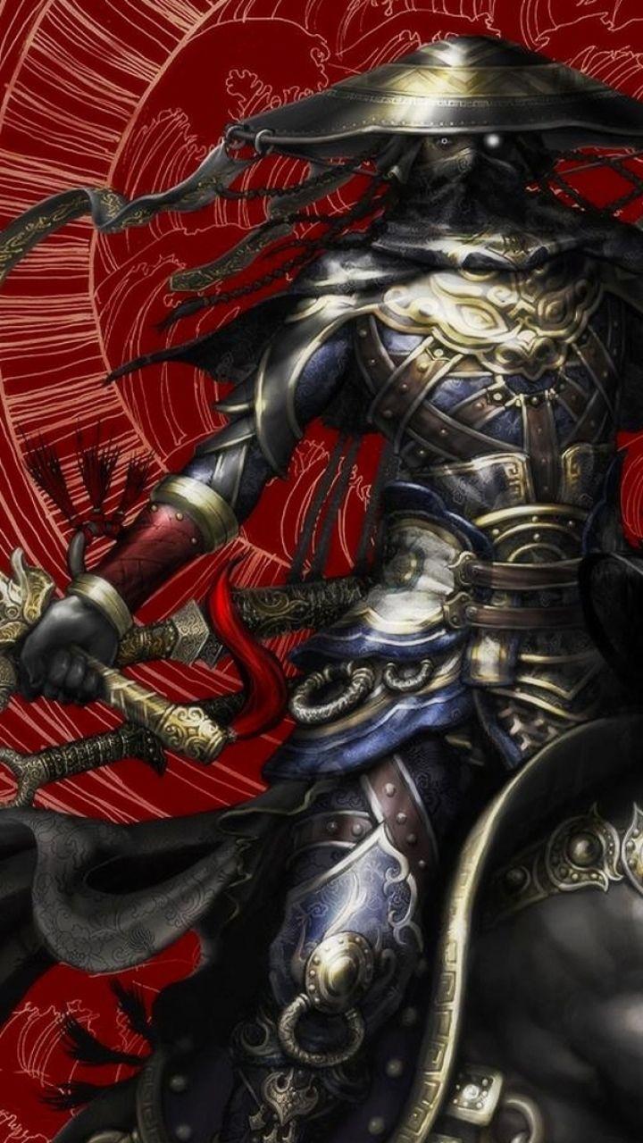 Samurai phone wallpaper