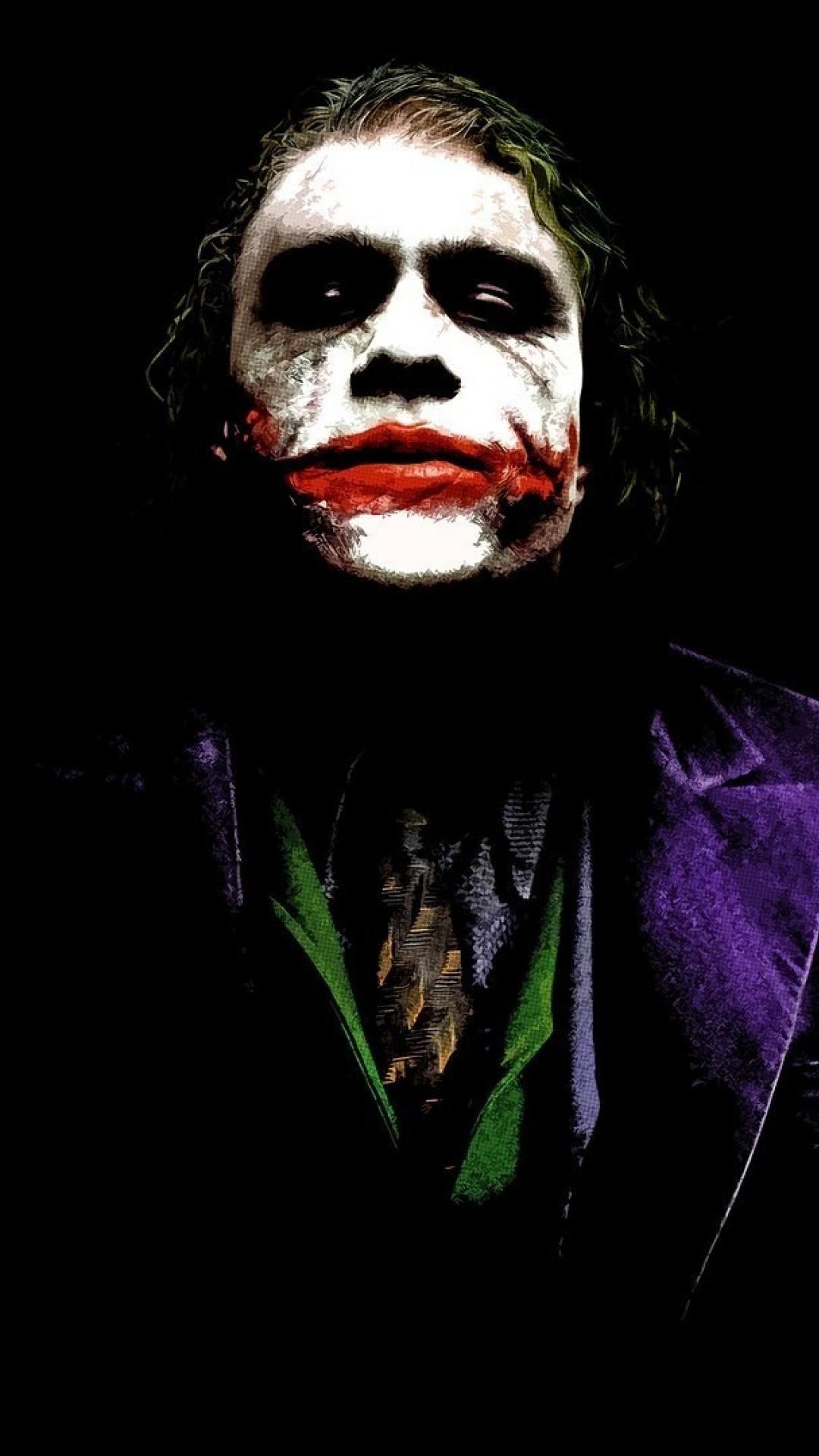 Joker Iphone Wallpapers Top Free Joker Iphone Backgrounds Wallpaperaccess