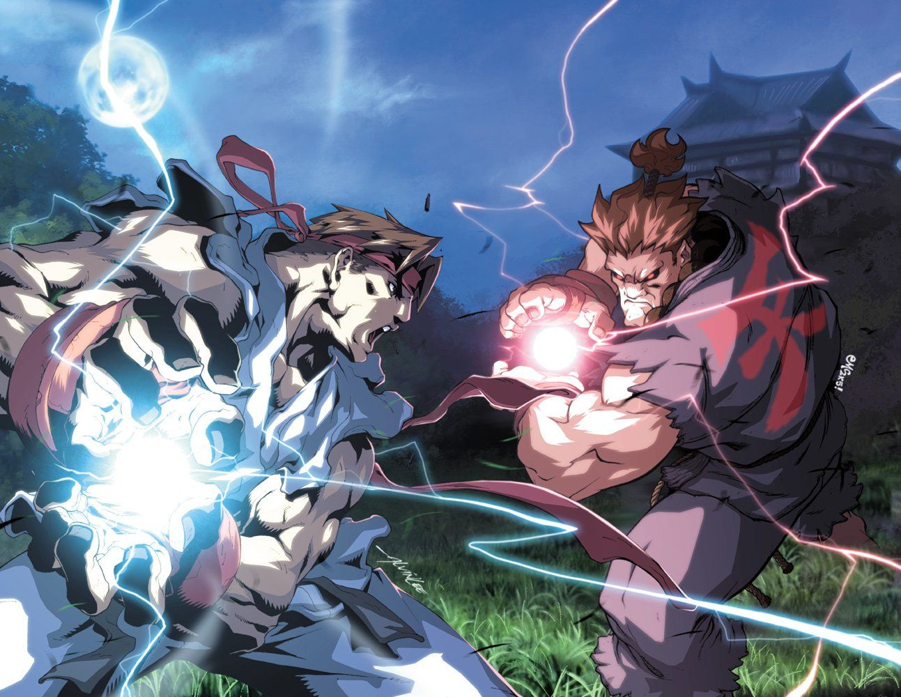 Anime Street Fighter Wallpapers Top Free Anime Street Fighter