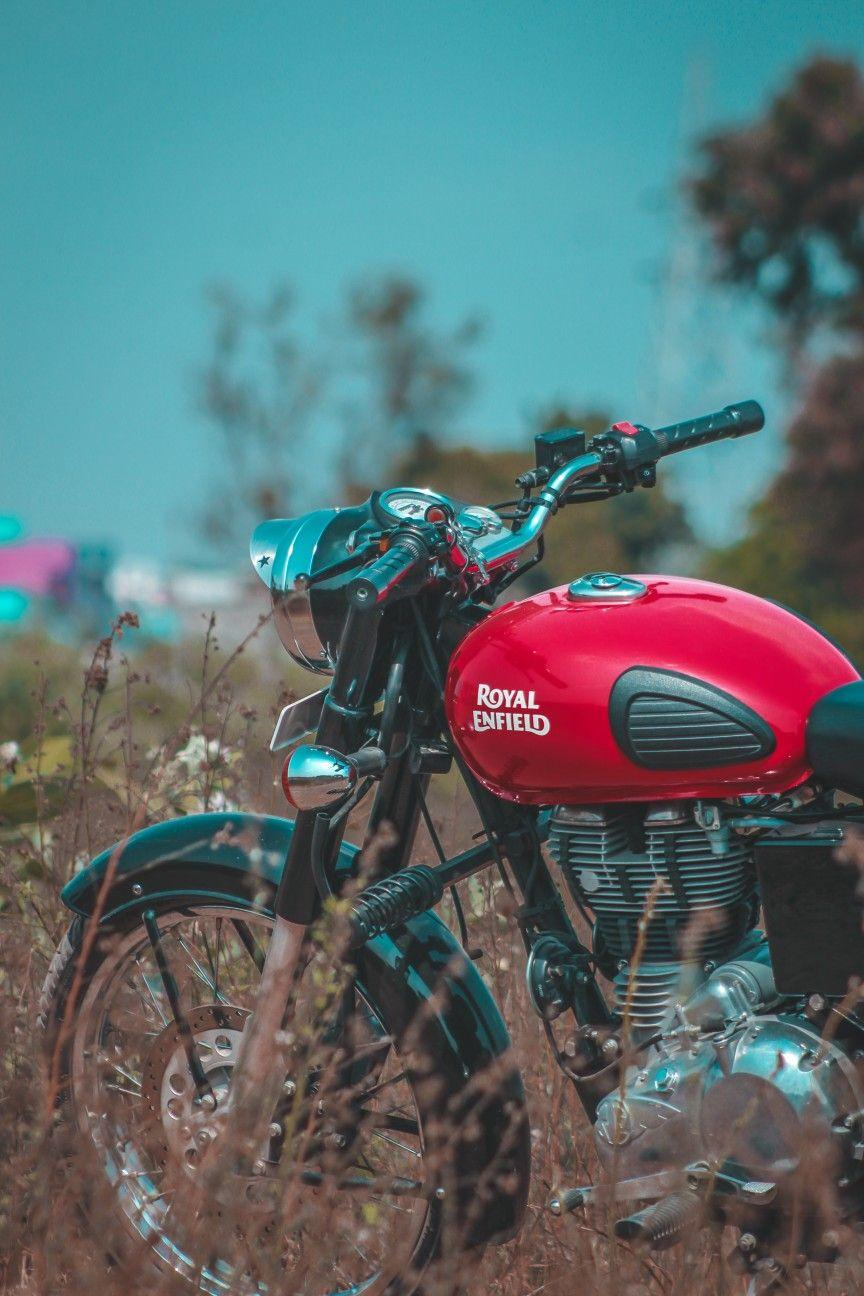 Red Royal Enfield Wallpapers Top Free Red Royal Enfield Backgrounds Wallpaperaccess