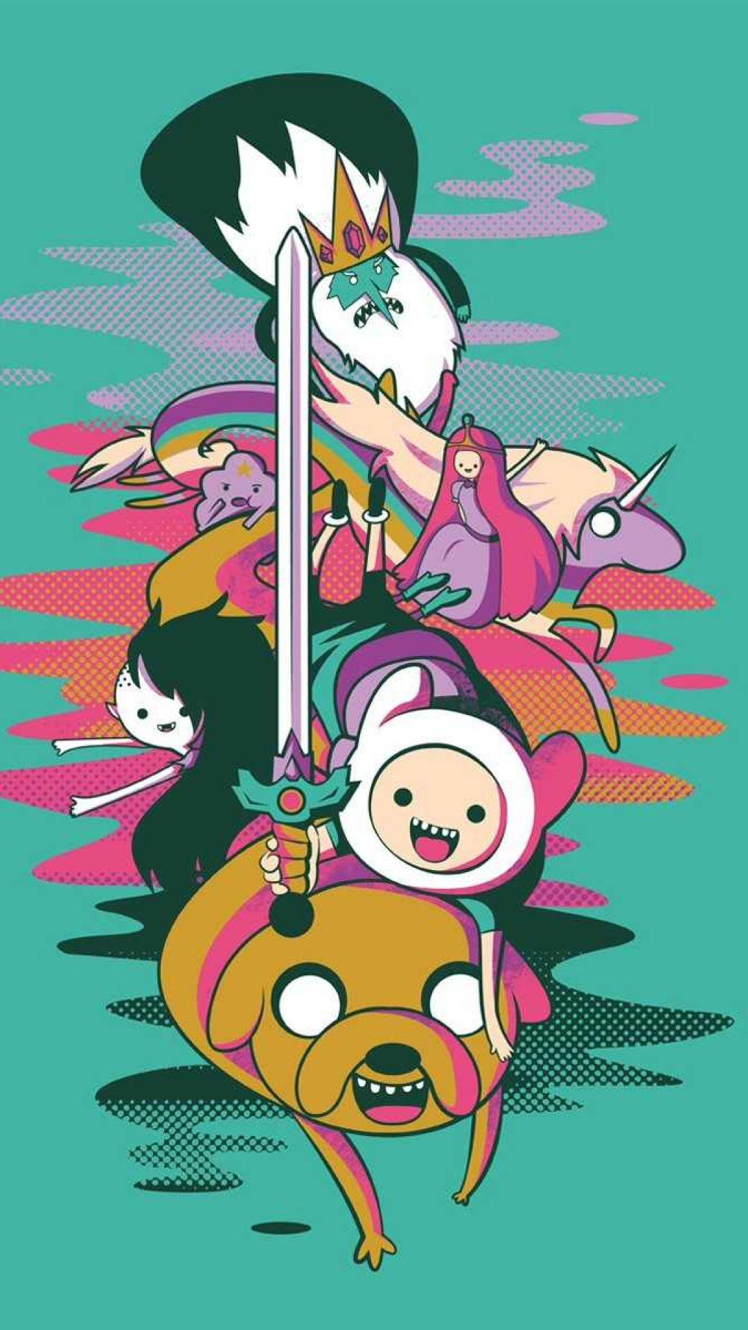 Adventure Time Iphone Wallpapers Top Free Adventure Time Iphone
