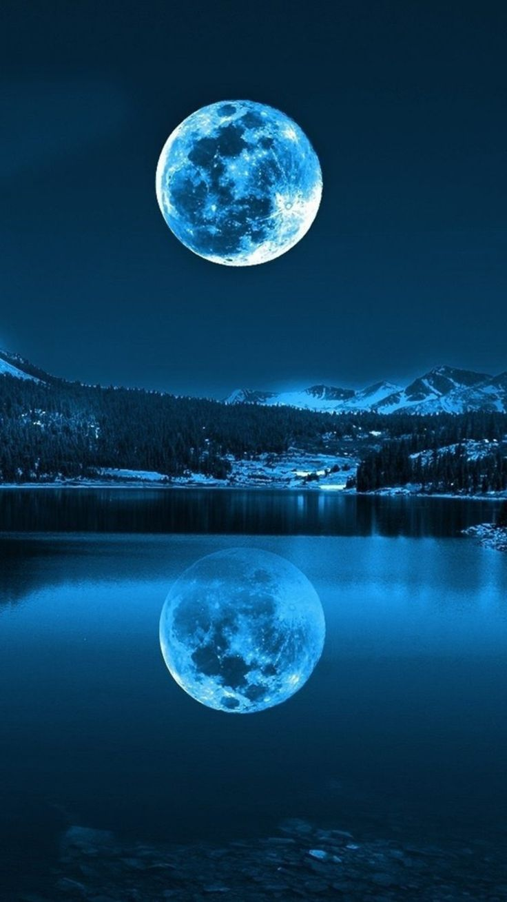 450+Blue Moon iPhone Wallpapers   Top Free Blue Moon iPhone ...