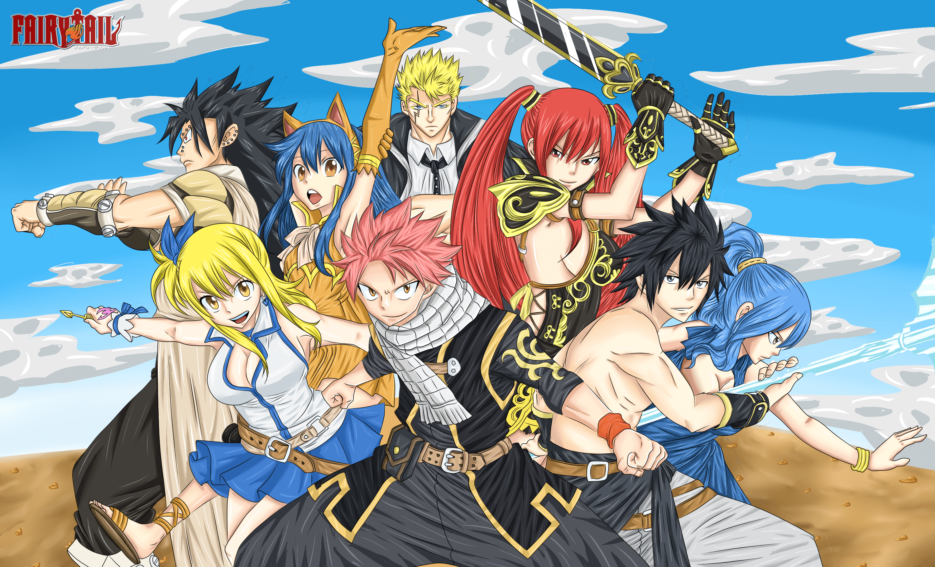 Fairy Tail Anime Wallpapers Top Free Fairy Tail Anime Backgrounds Wallpaperaccess