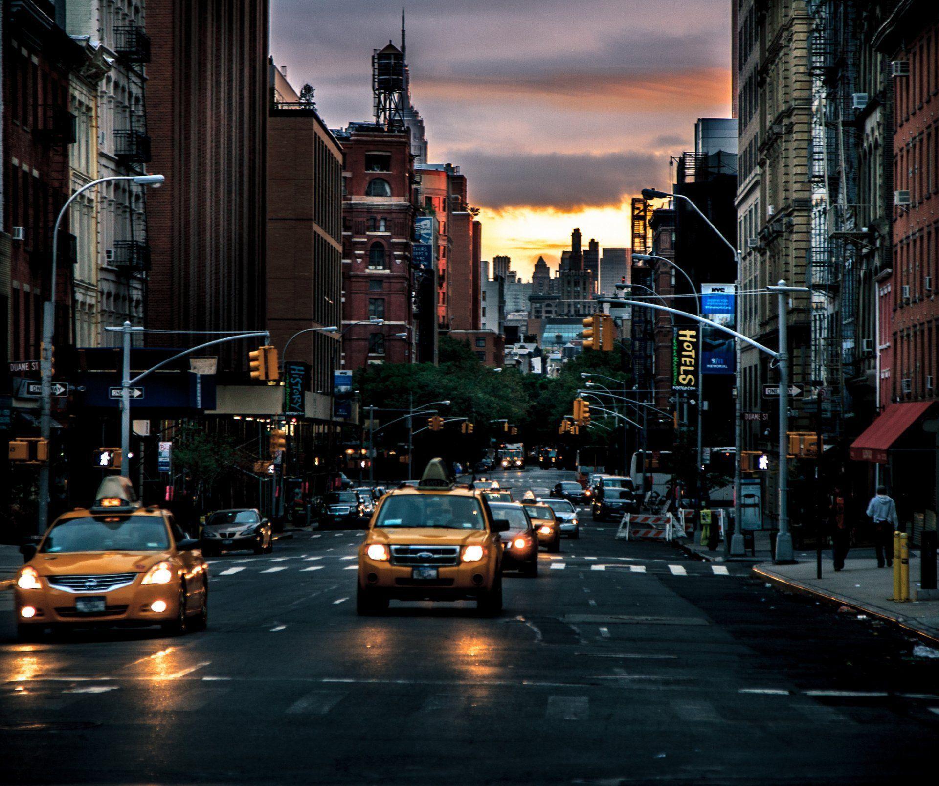 New York Street Wallpapers