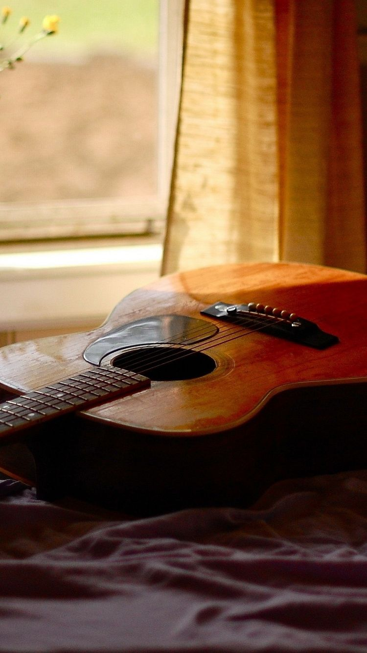 Acoustic Guitar Iphone Wallpapers Top Free Acoustic Guitar Iphone Backgrounds Wallpaperaccess