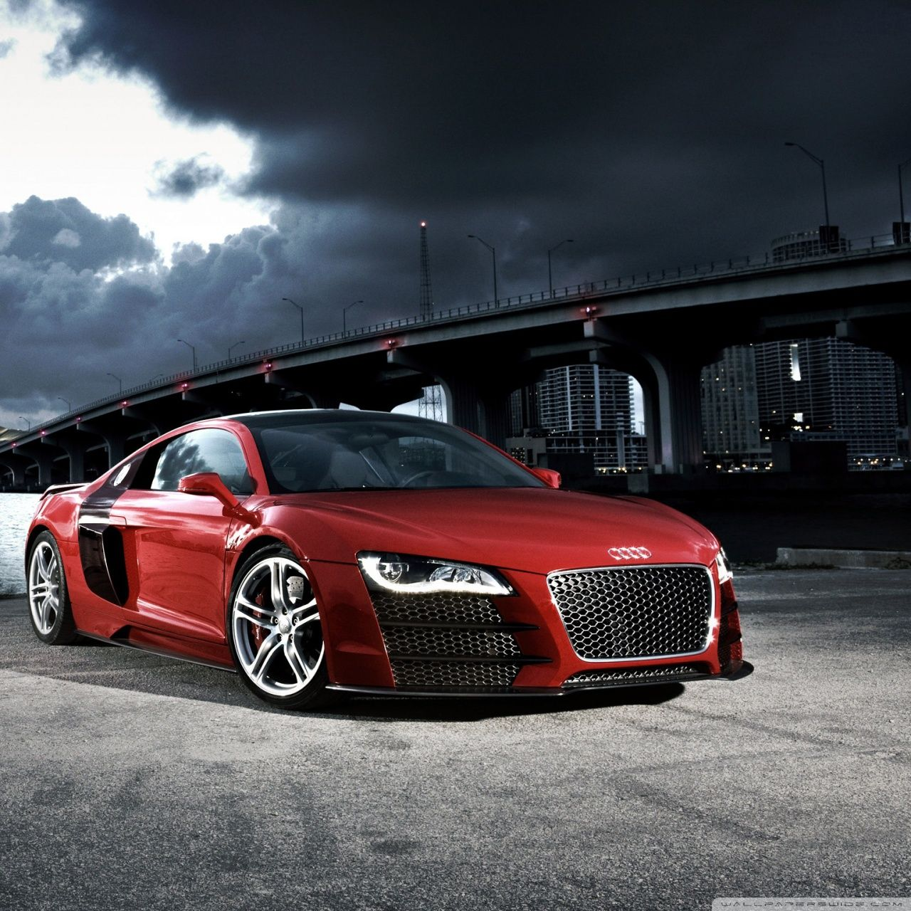 Audi R8 Le Mans Wallpapers
