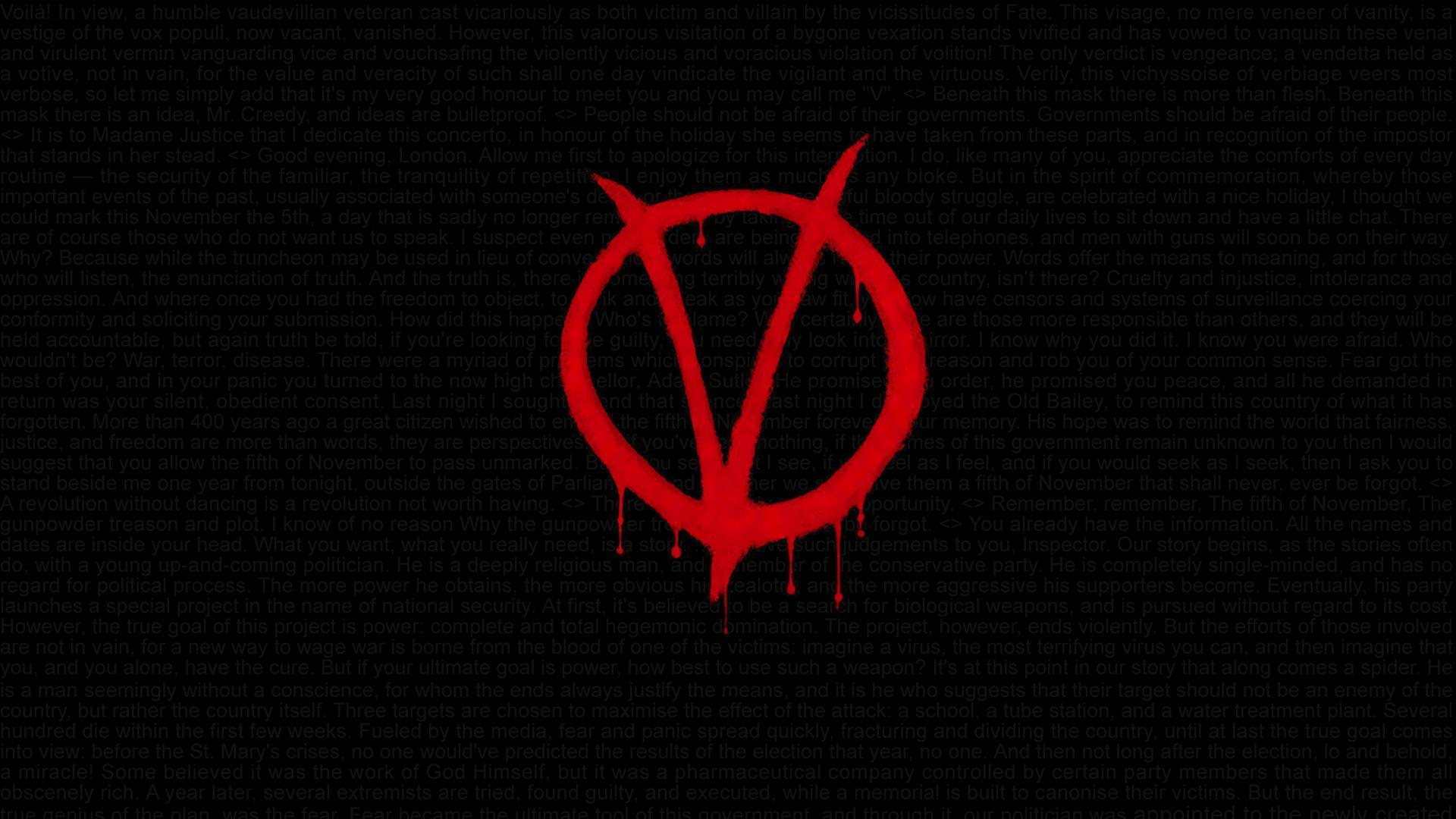 V For Vendetta Wallpapers Top Free V For Vendetta Backgrounds