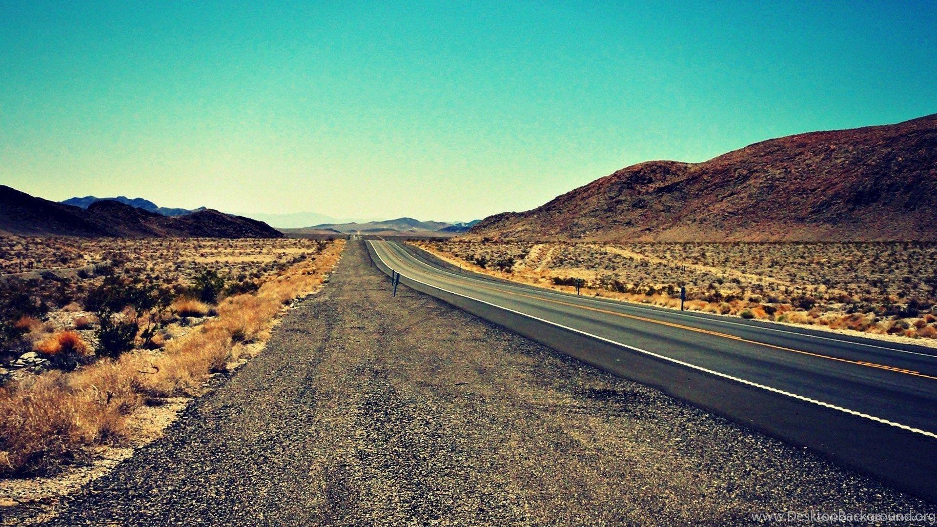 58 Best Free Desert Highway Wallpapers Wallpaperaccess