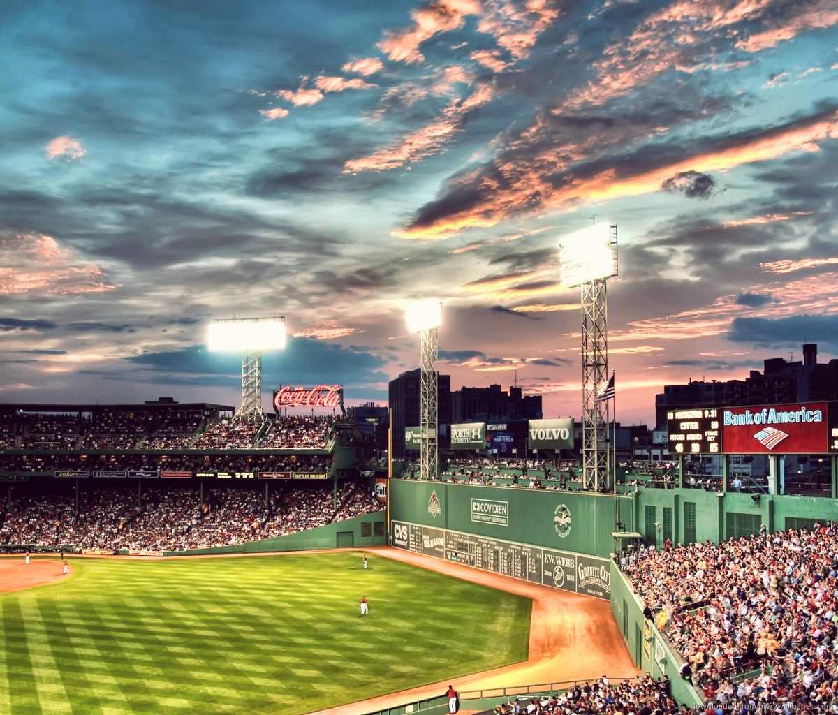 Fenway Park Wallpapers Top Free Fenway Park Backgrounds Wallpaperaccess