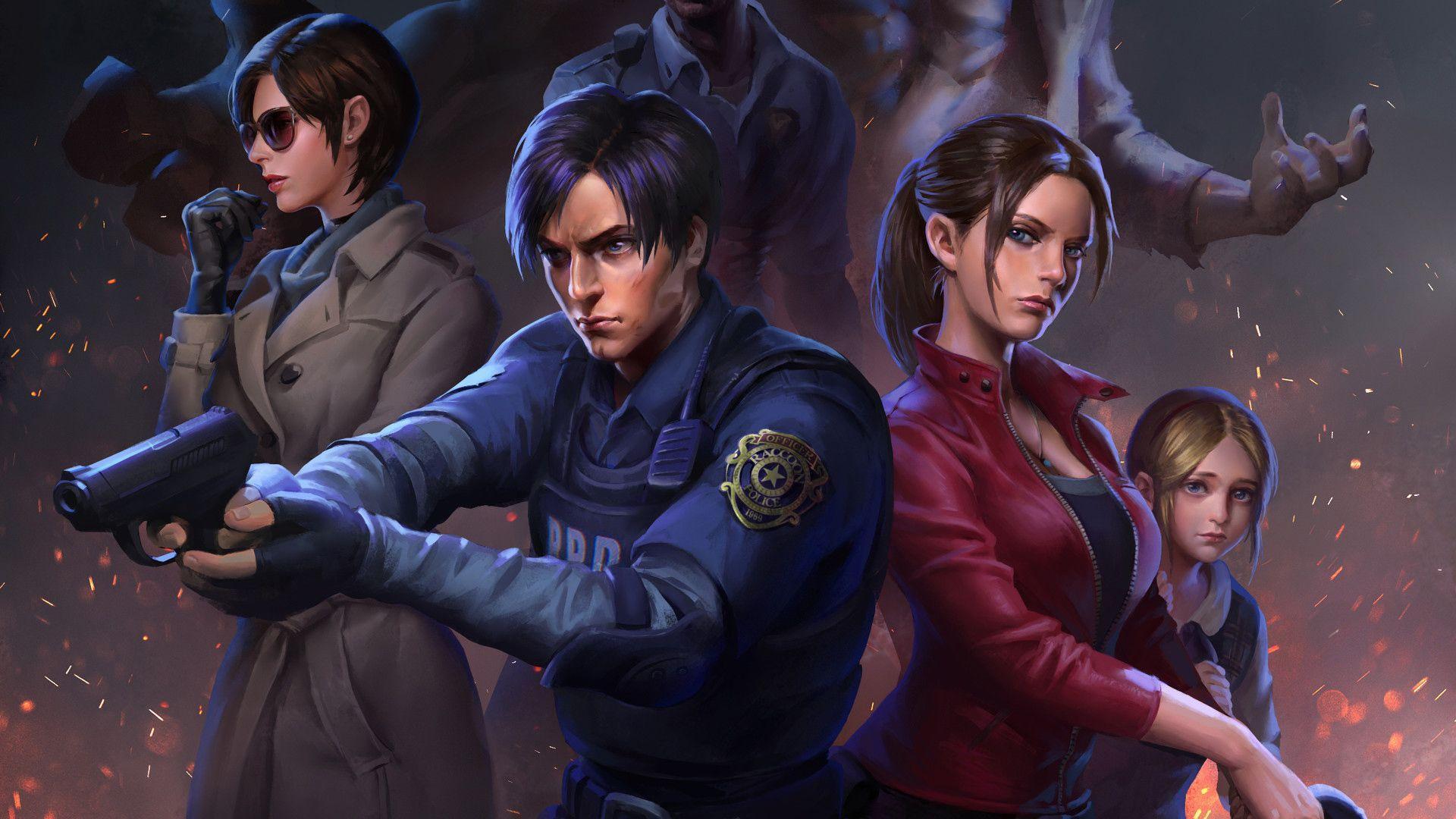 Resident Evil Art Wallpapers Top Free Resident Evil Art
