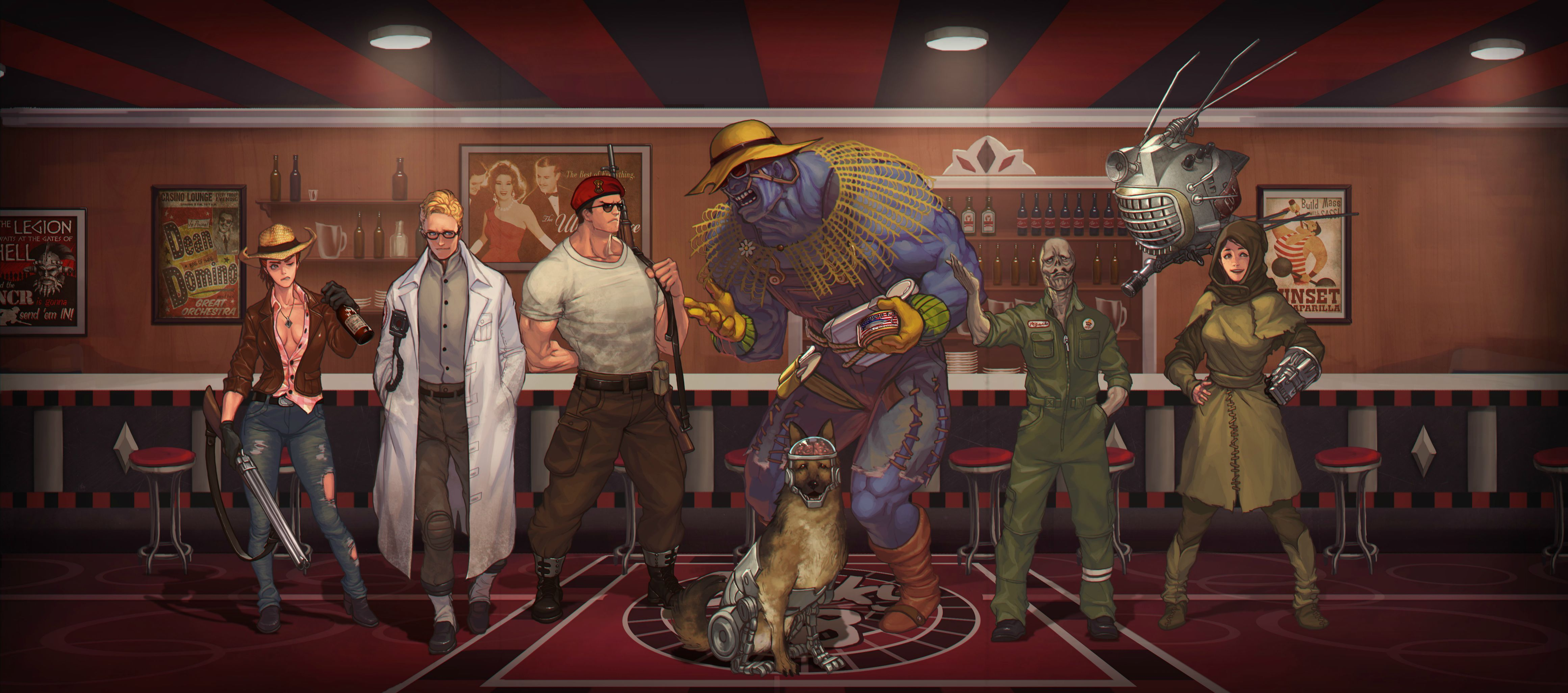 Fallout Nv Wallpapers Top Free Fallout Nv Backgrounds