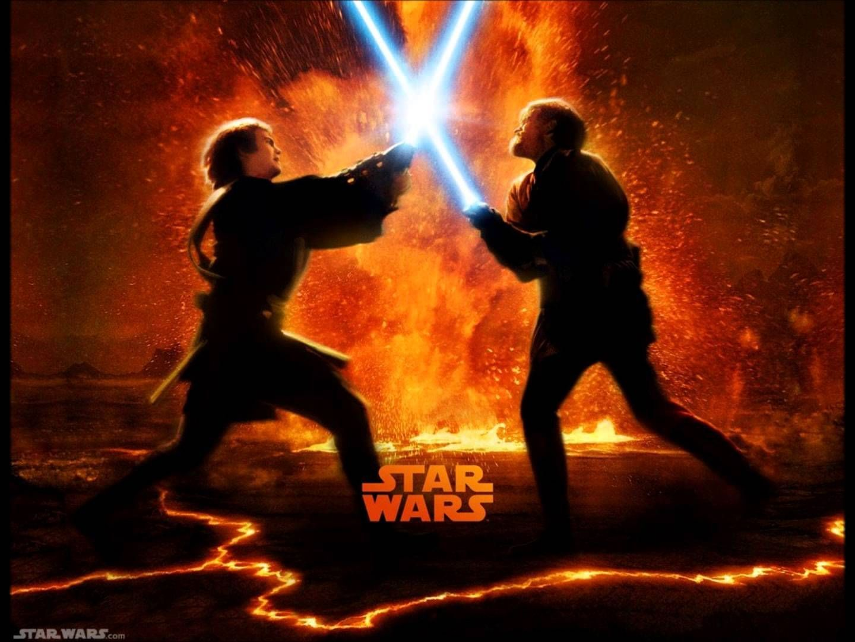 Anakin Vs Obi Wan Wallpapers Top Free Anakin Vs Obi Wan Backgrounds Wallpaperaccess