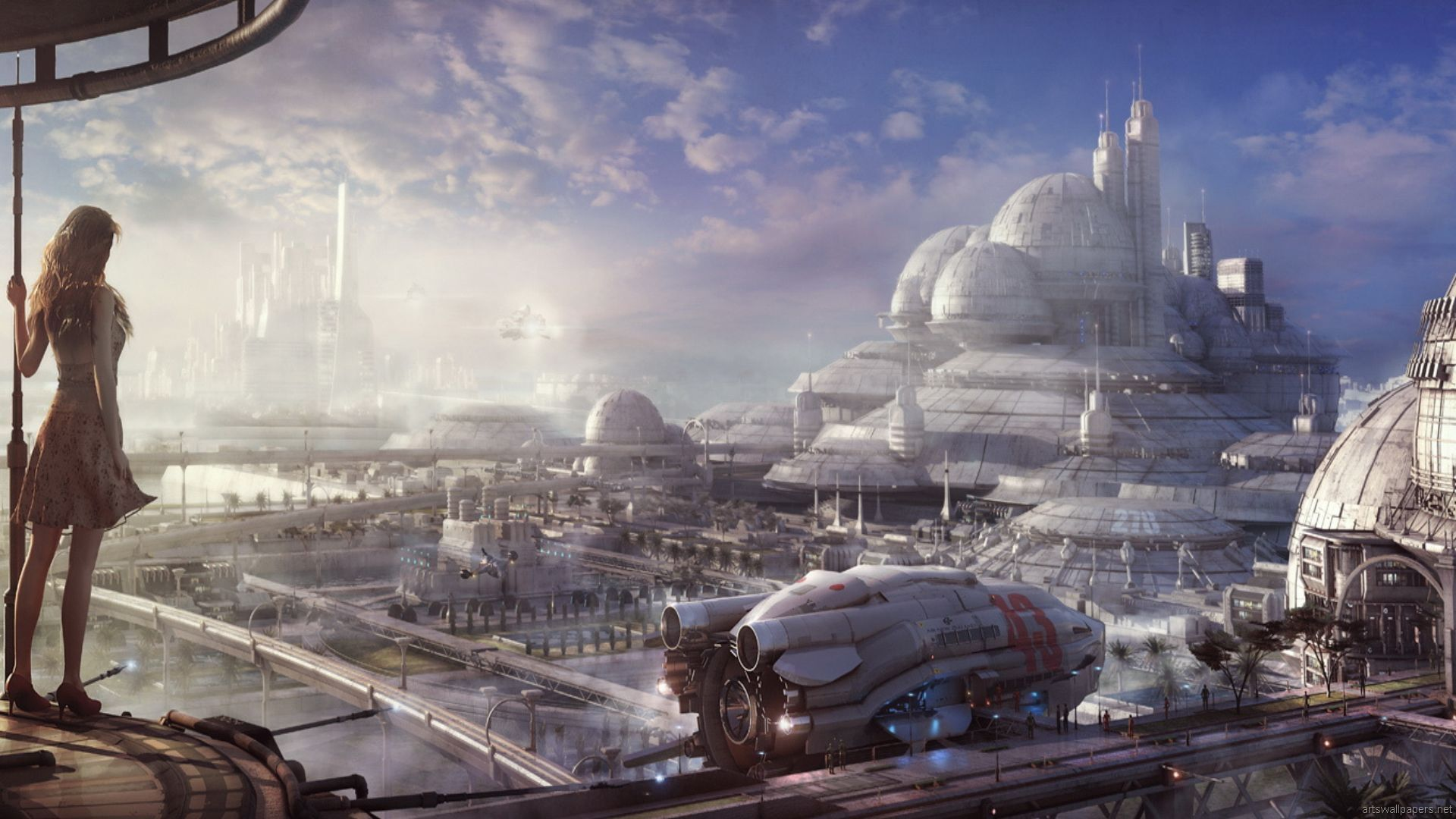 Future Space City Wallpapers - Top Free Future Space City ...