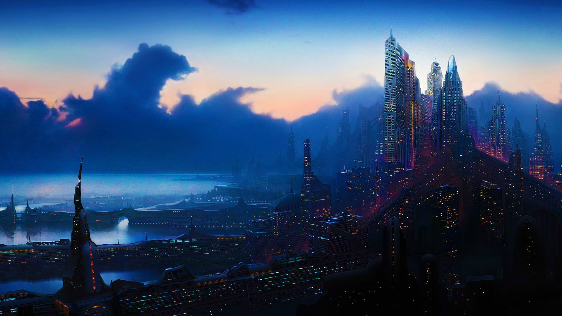 Space City Wallpapers Top Free Space City Backgrounds