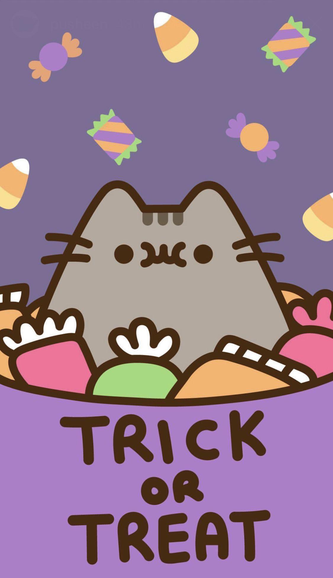 Kawaii Halloween Iphone Wallpapers Top Free Kawaii Halloween Iphone Backgrounds Wallpaperaccess