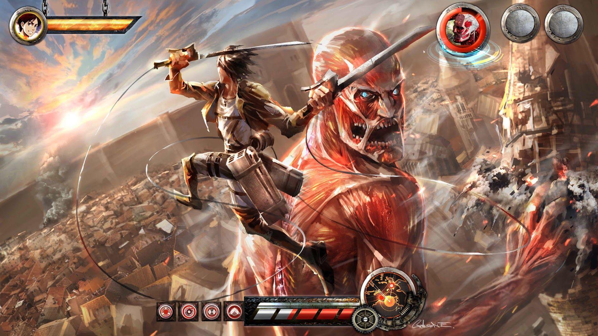 1920x1080 Attack on Titan Hình nền iPhone