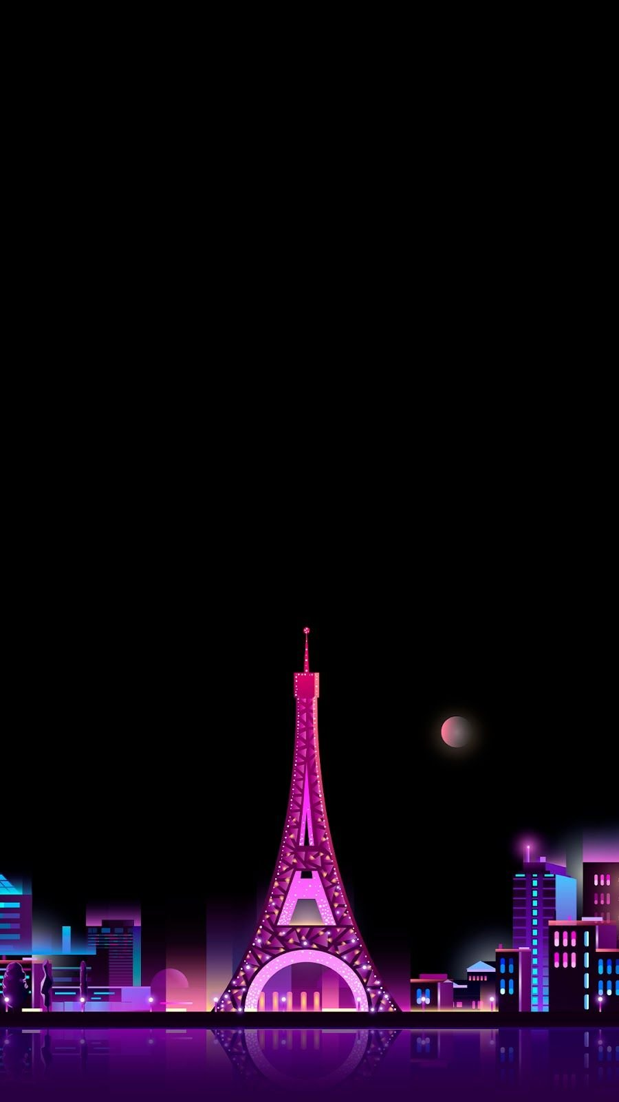 Pink Eiffel Tower Wallpapers Top Free Pink Eiffel Tower Backgrounds Wallpaperaccess