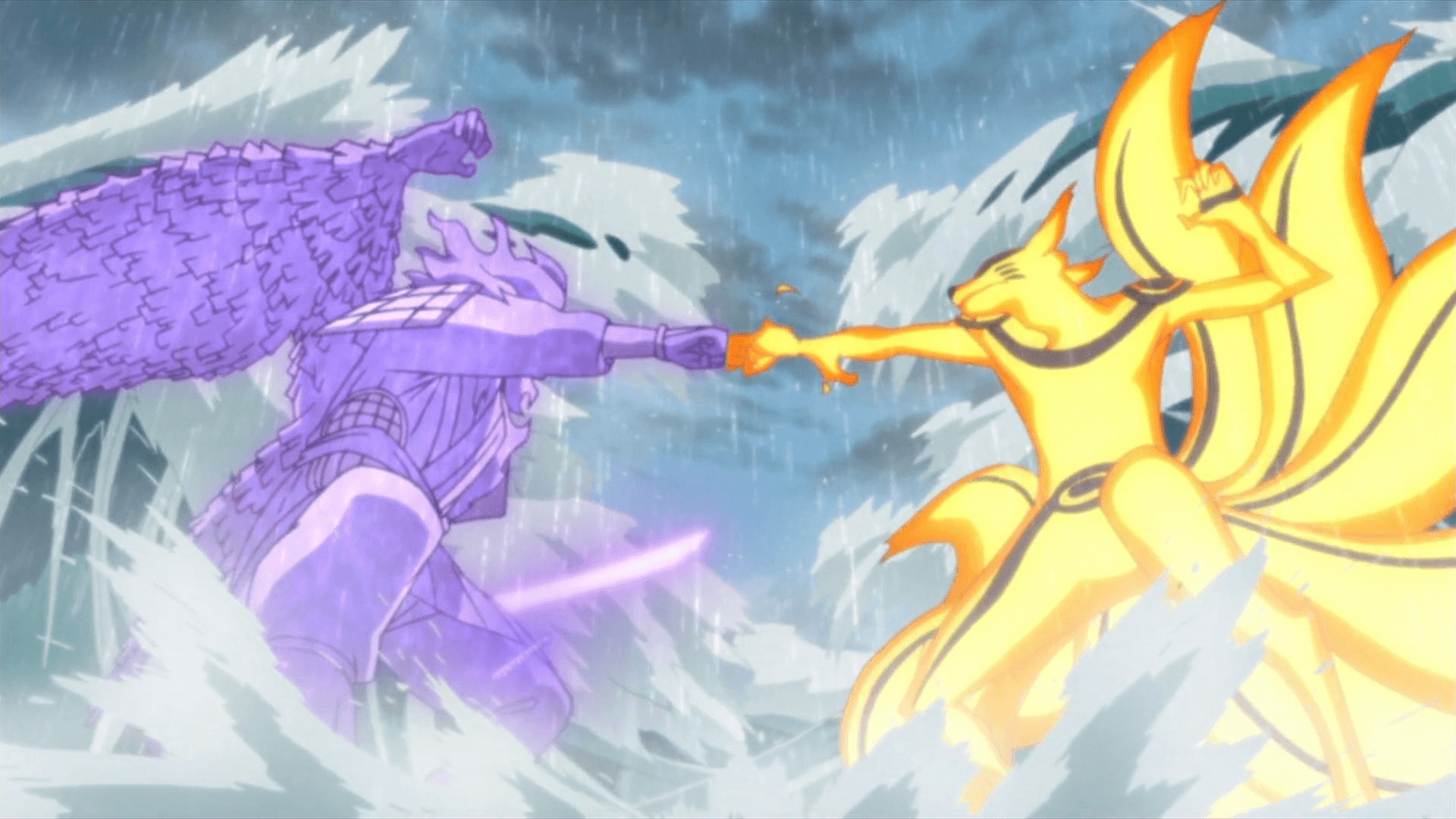 Wallpaper Naruto Vs Sasuke Final Battle Top Anime Wallpaper