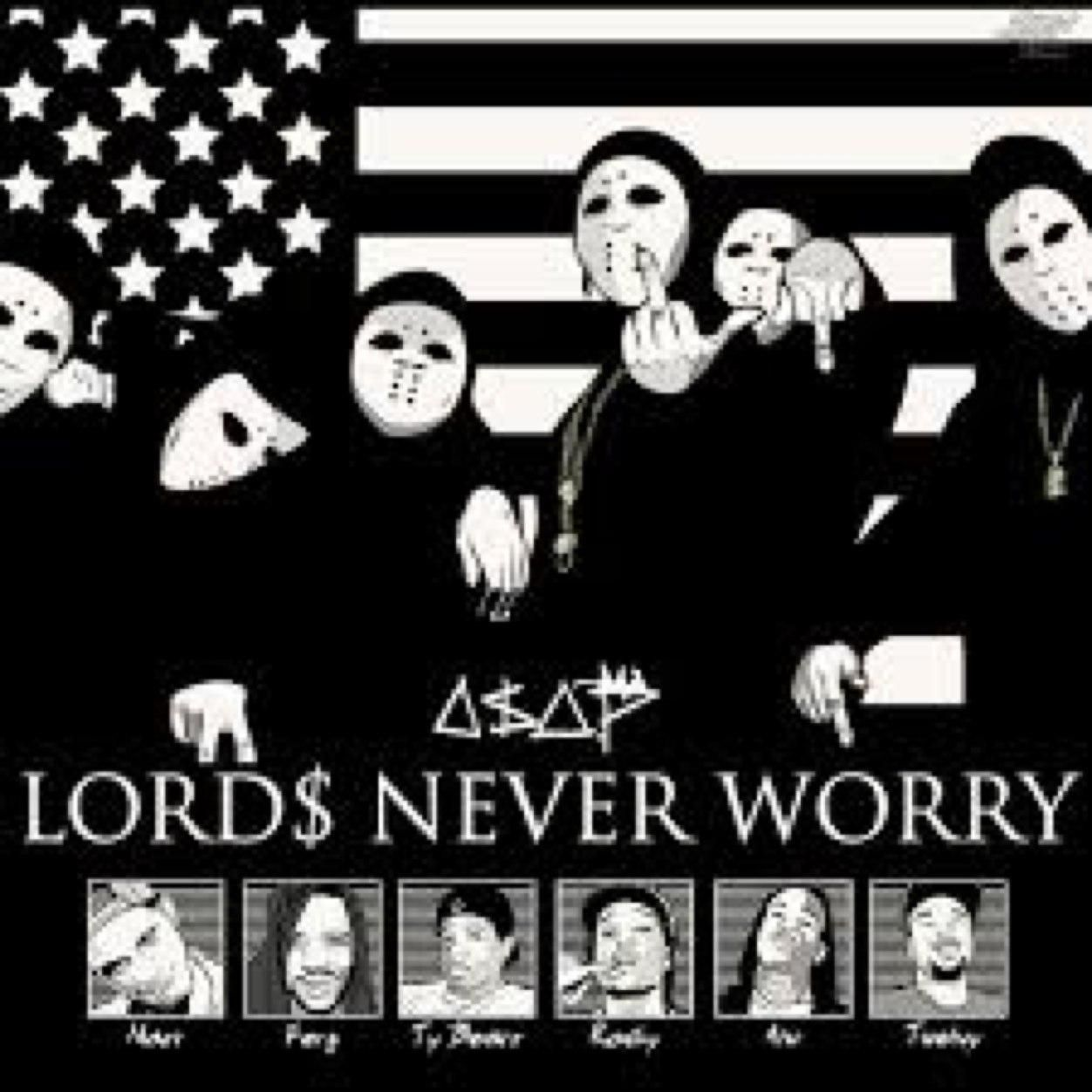 asap mob lords never worry wallpaper
