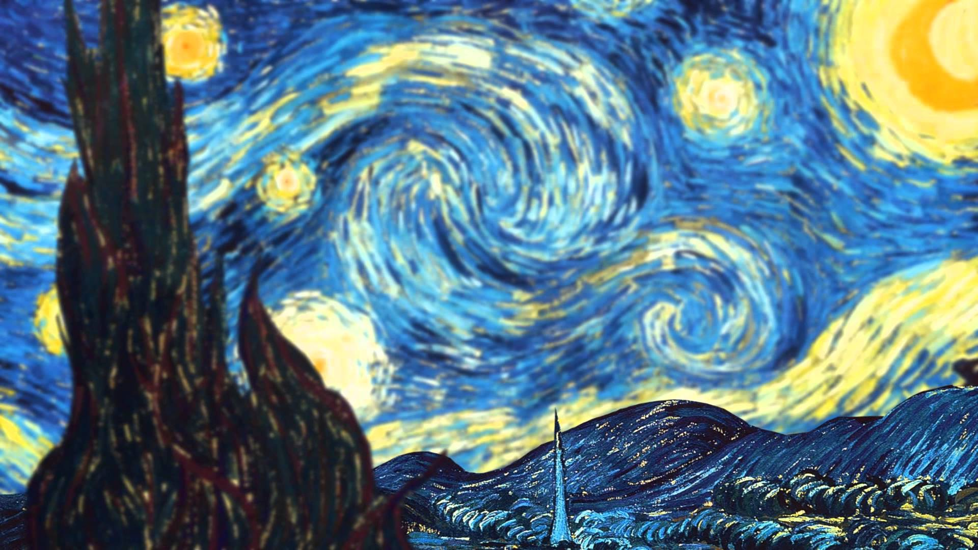 Amazing Cliparts Vincent Van Gogh Starry Night Background