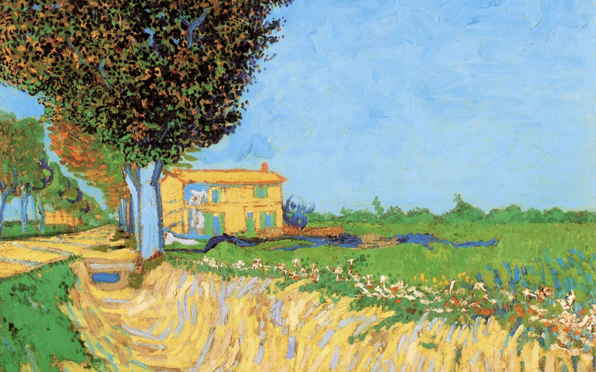 Vincent Van Gogh Paintings Wallpapers Top Free Vincent Van